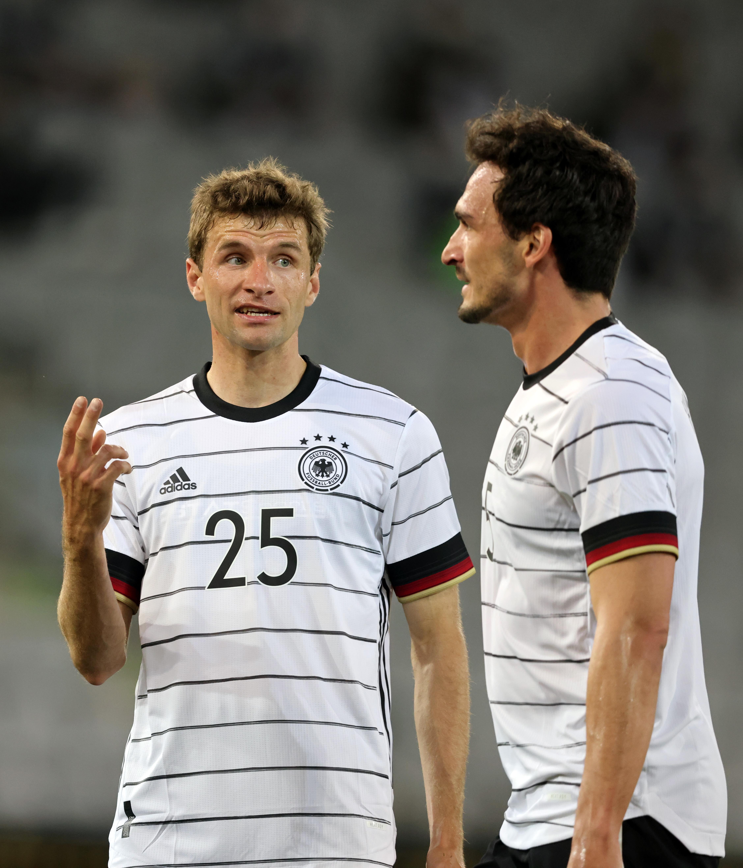 Thomas Mueller and Mats Hummels - Germany - Euro 2020
