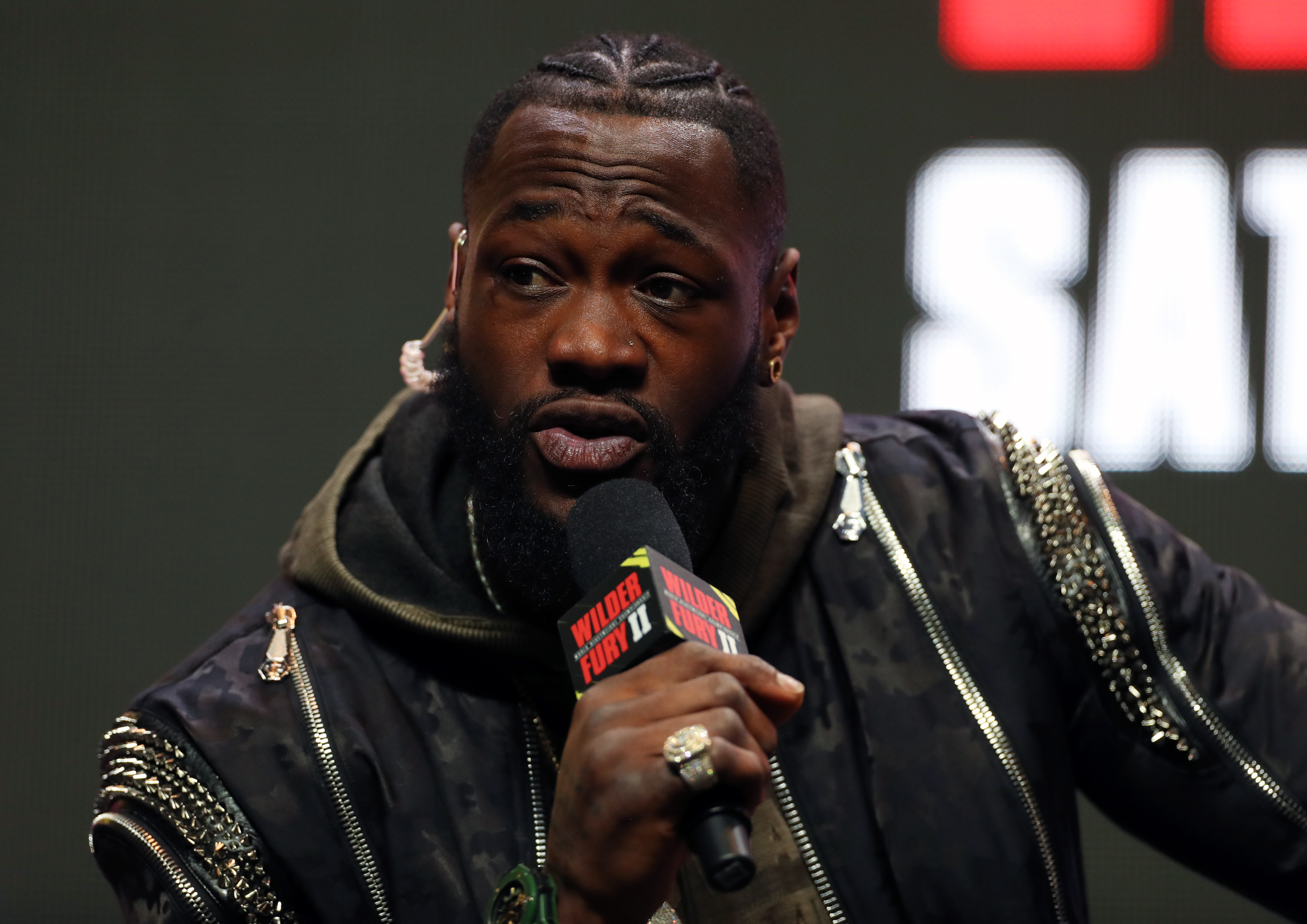 Deontay Wilder v Tyson Fury II Press Conference - MGM Grand Garden Arena