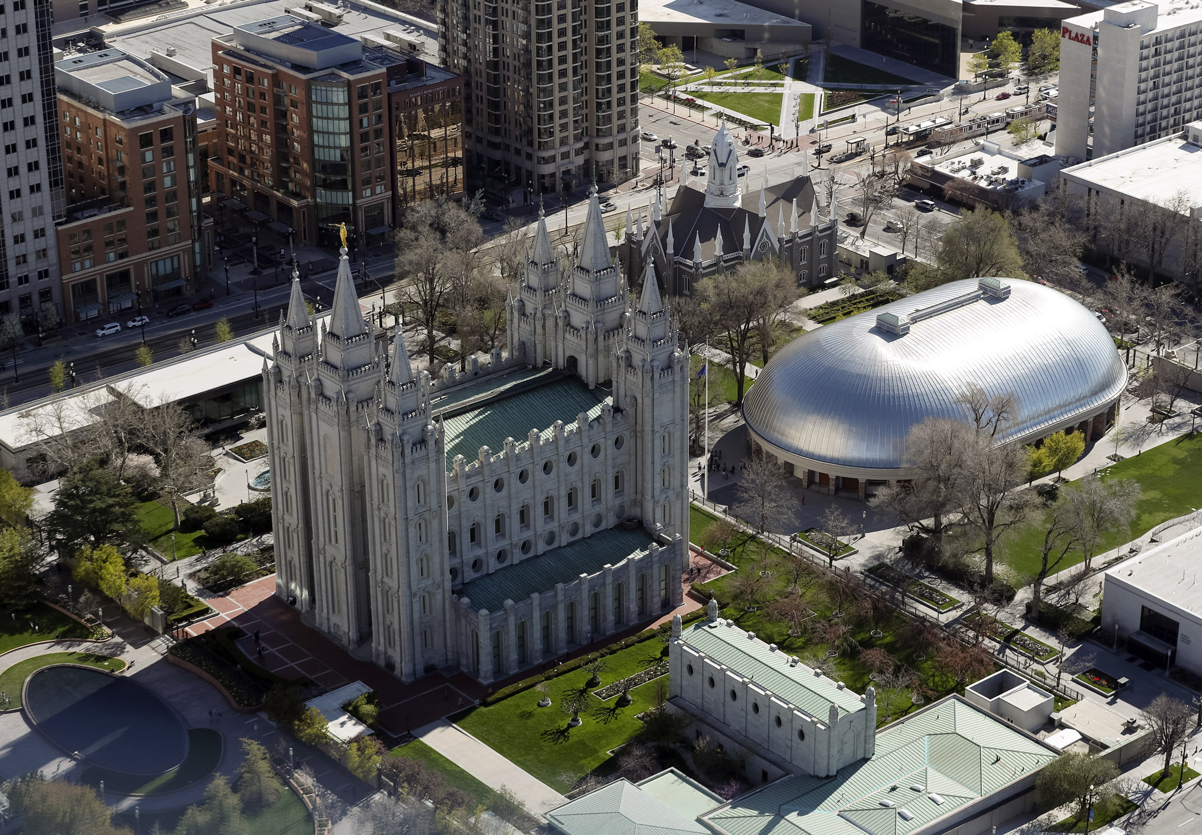 Temple Square will begin a phased reopening in summer 2021, starting with the Conference Center on June 14.