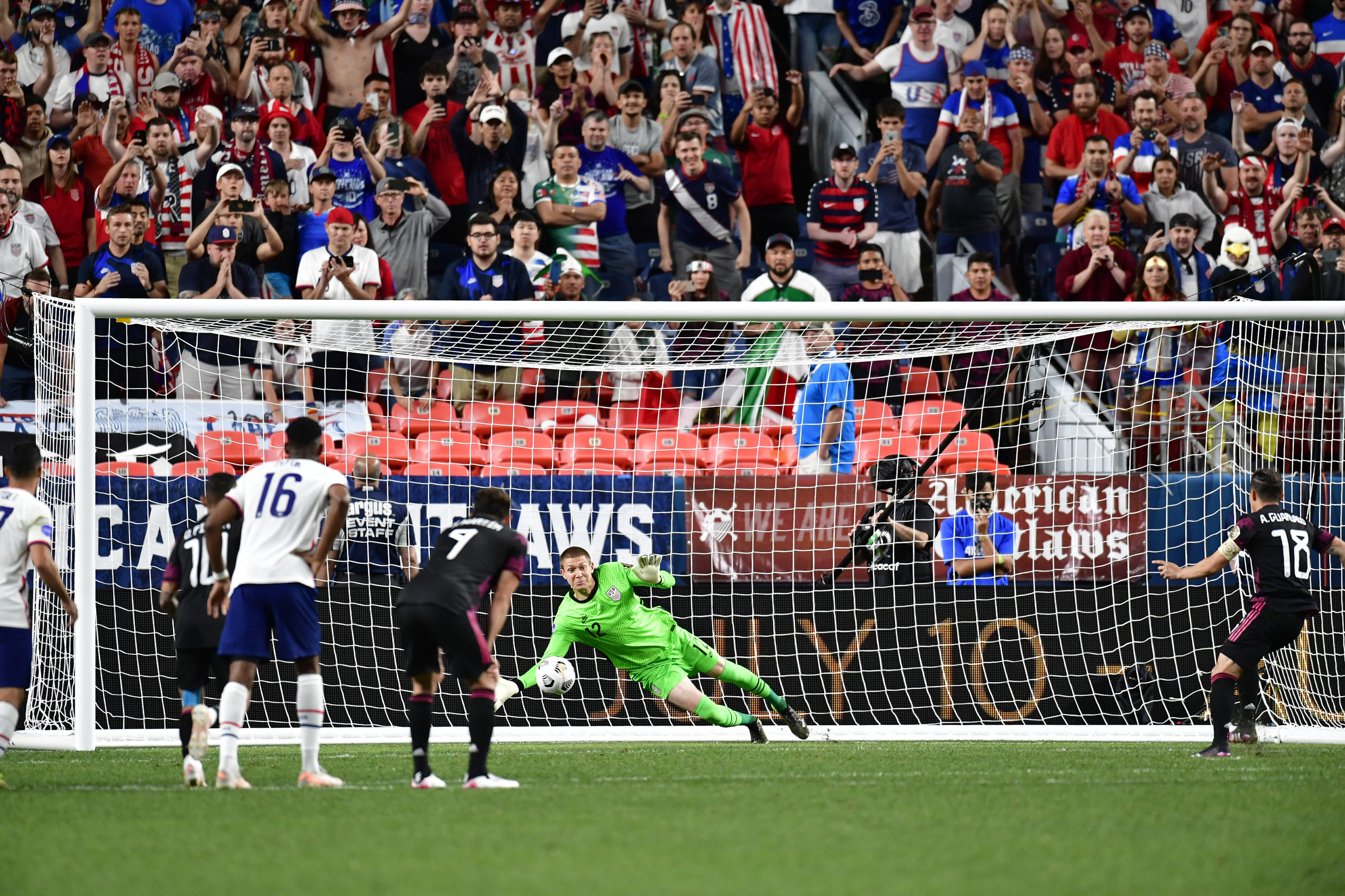 CONCACAF Nations League Finals at Empower Field at Mile High in Denver, Colorado