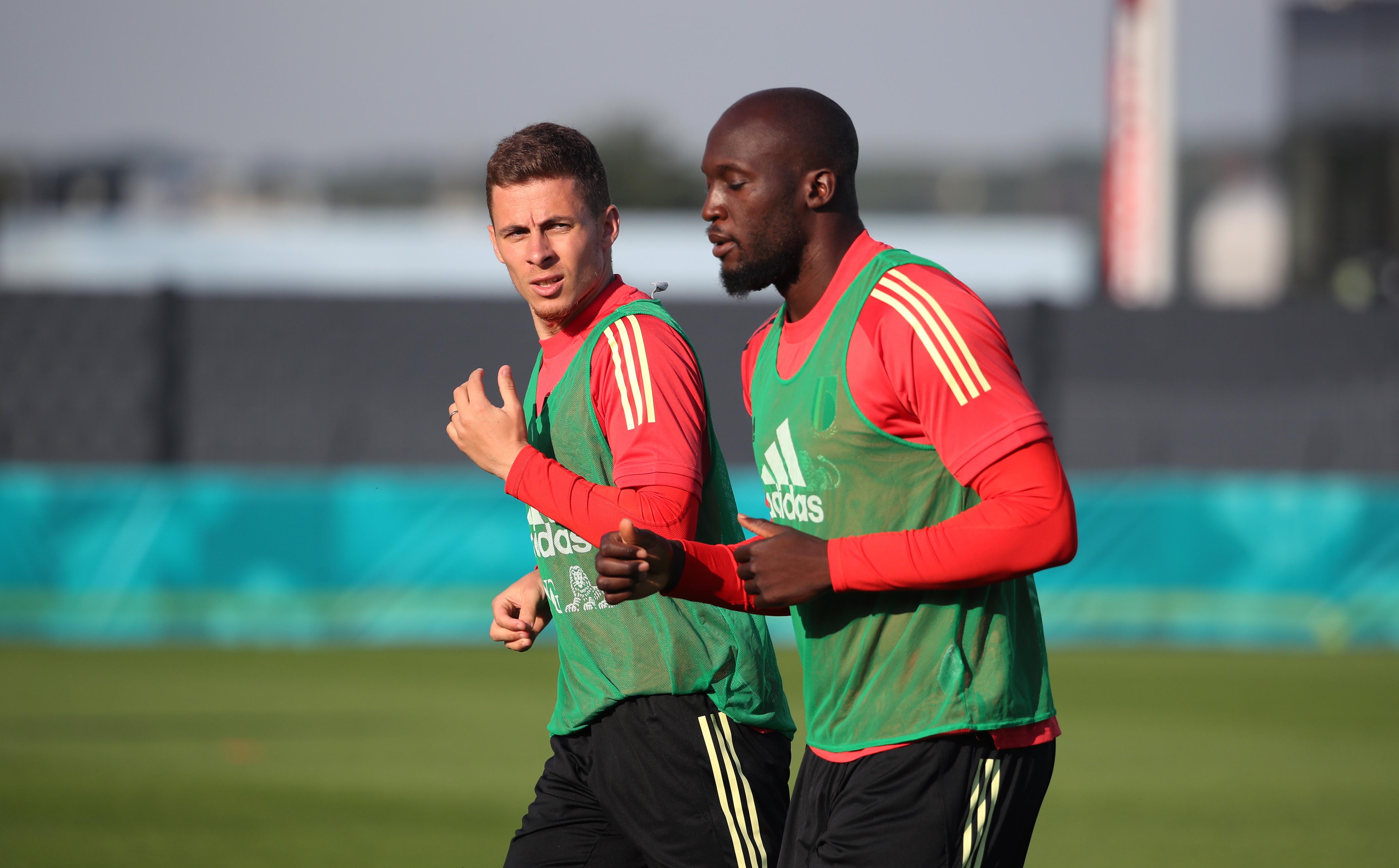 Belgium Training Session