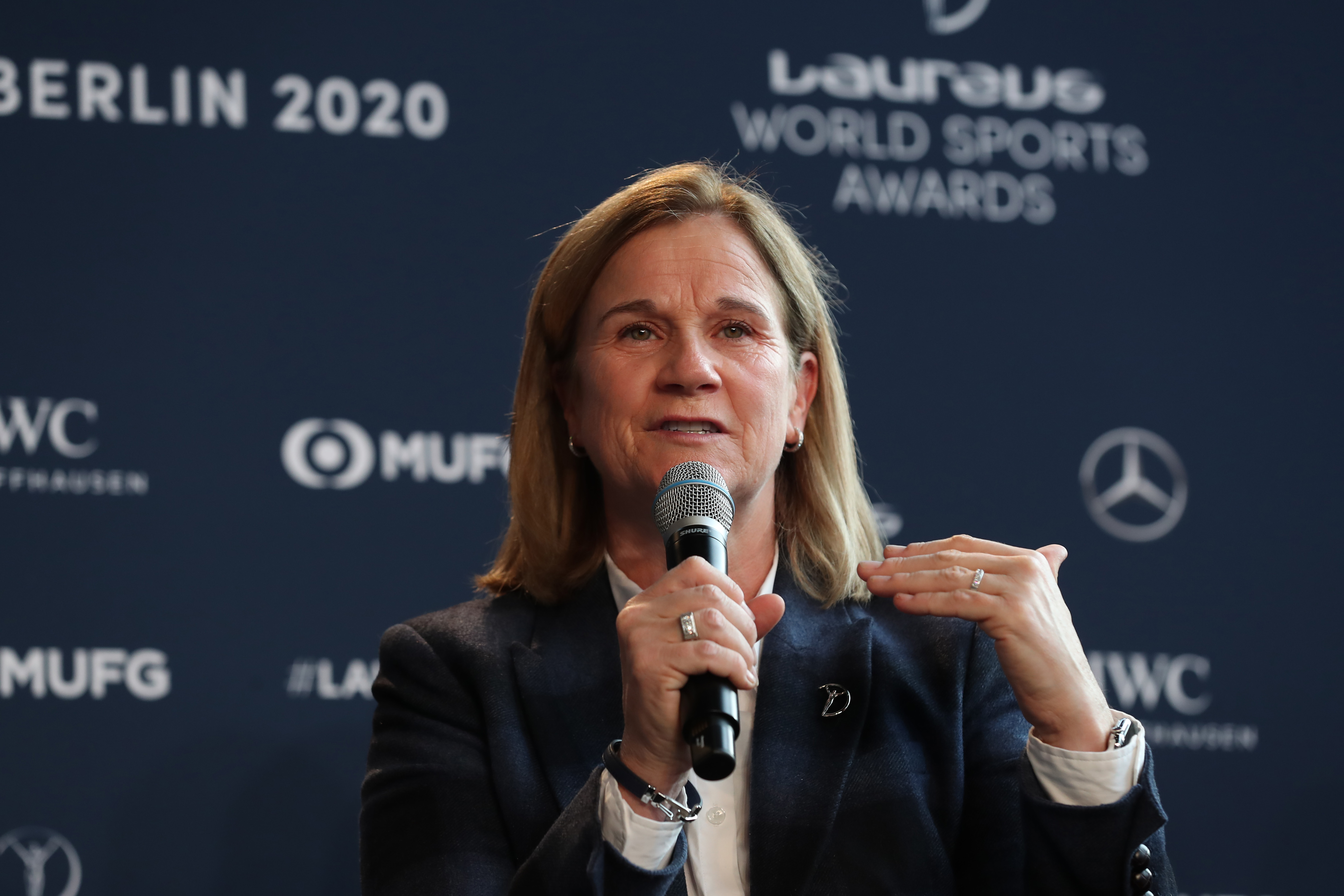 媒体访谈 -  2020 Laureus World Sports Awards  - 柏林