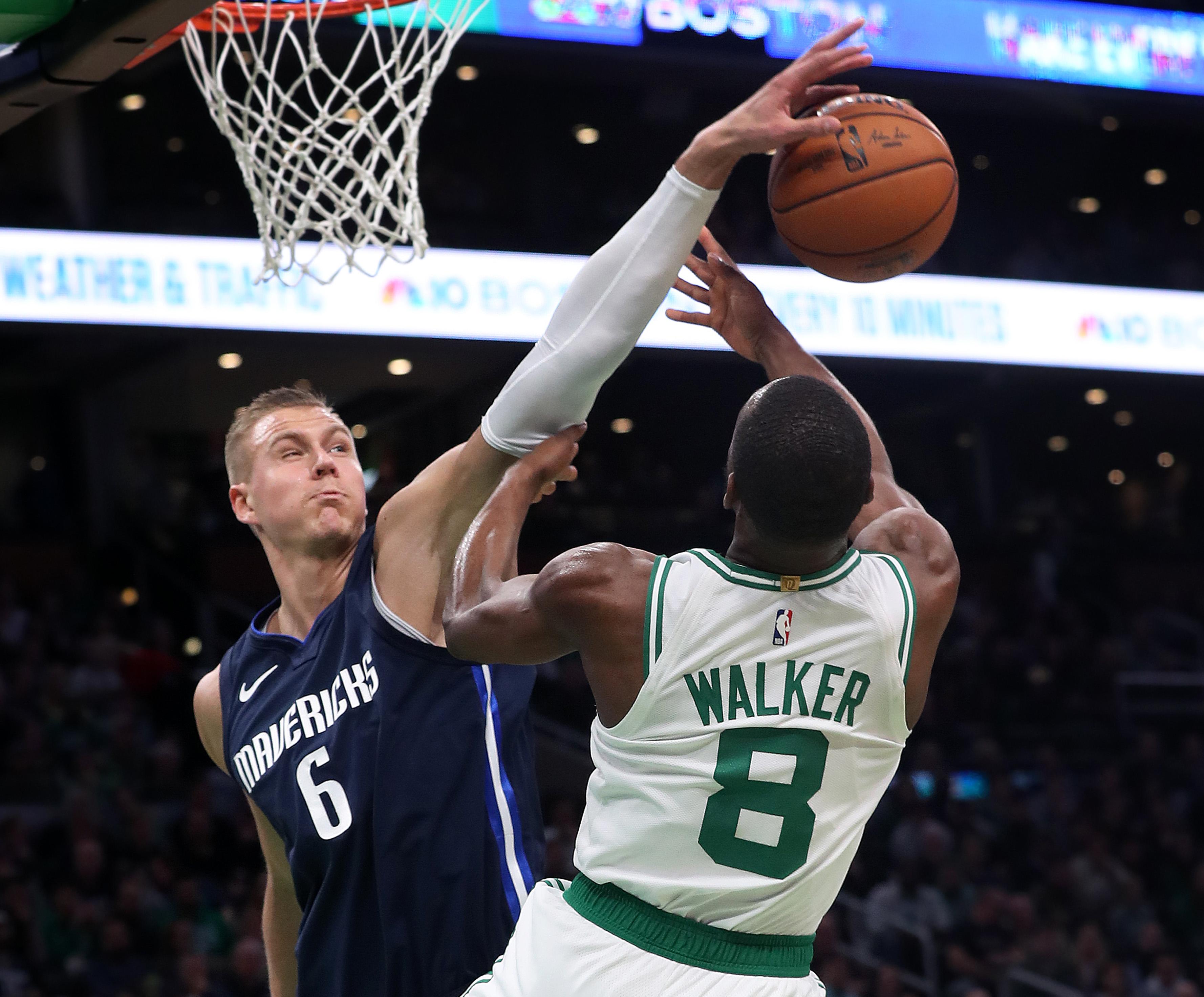 Dallas Mavericks Vs Boston Celtics At TD Garden