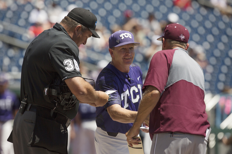 NCAA Baseball: College World Series-TCU vs Texas A&M
