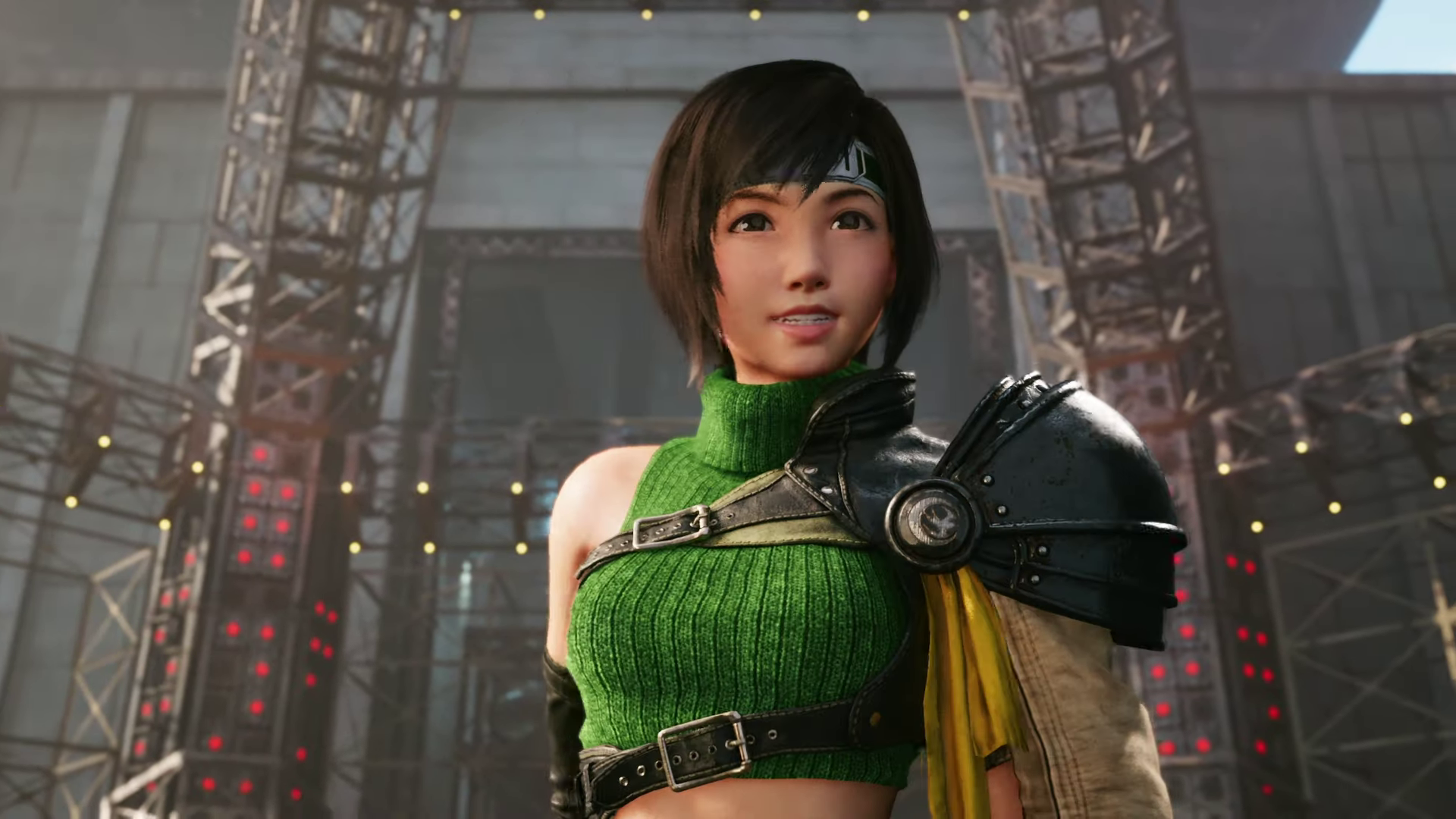 Yuffie from Final Fantasy 7 Remake