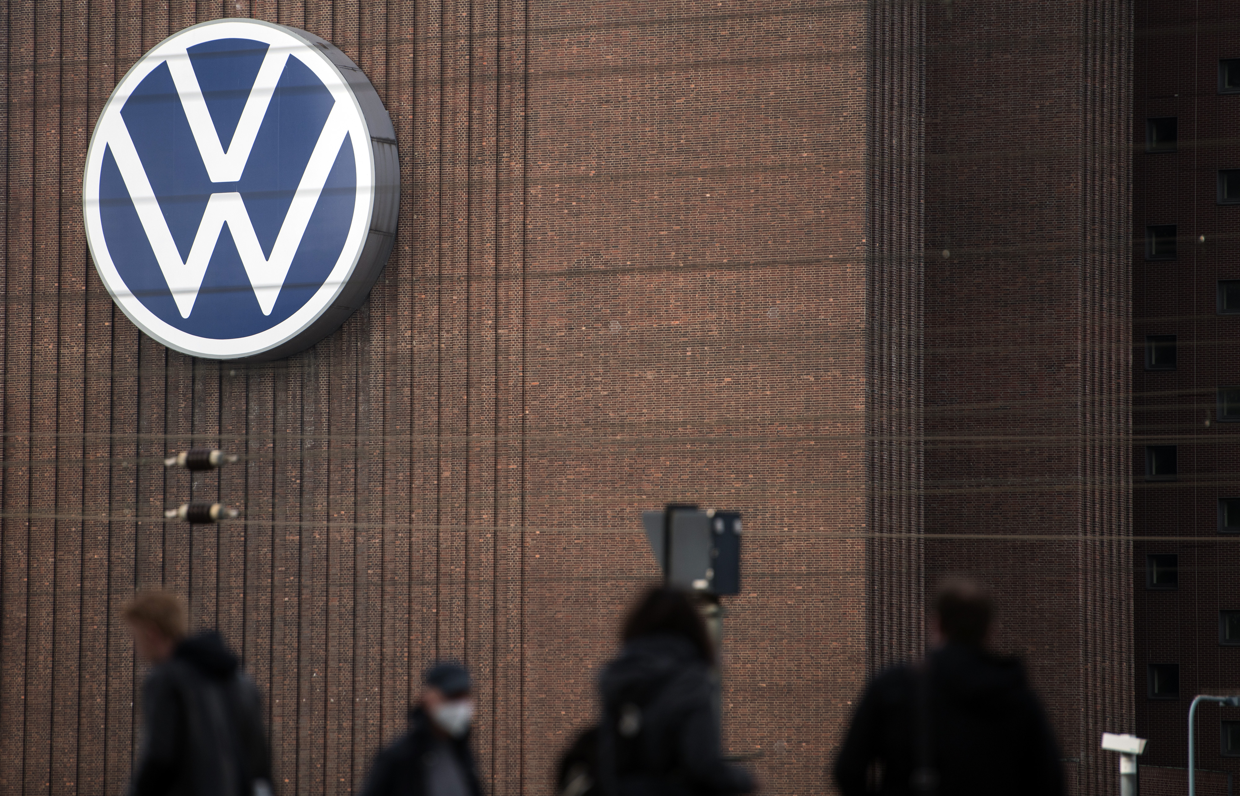 Volkswagen AG Headquarters Ahead of 2020 Earnings Announcement