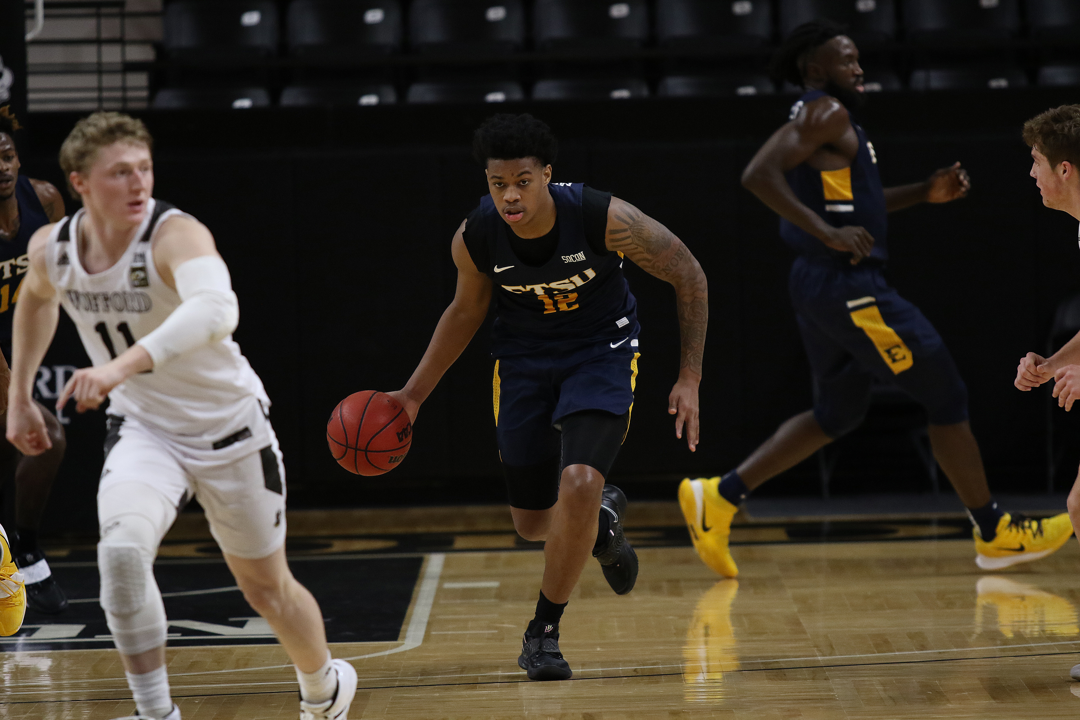 COLLEGE BASKETBALL: FEB 01 East Tennessee State at Wofford