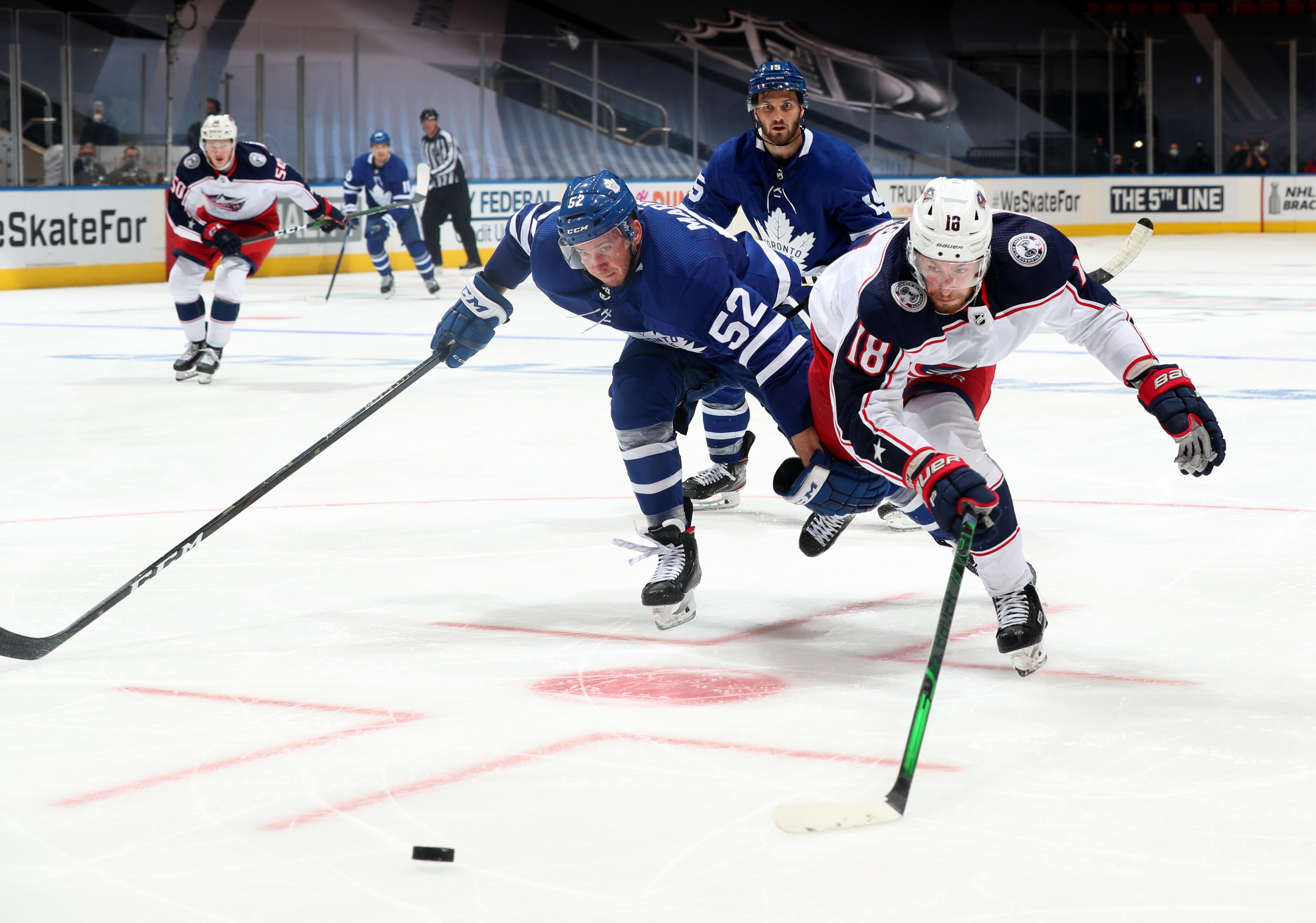 Columbus Blue Jackets v Toronto Maple Leafs - Game Five