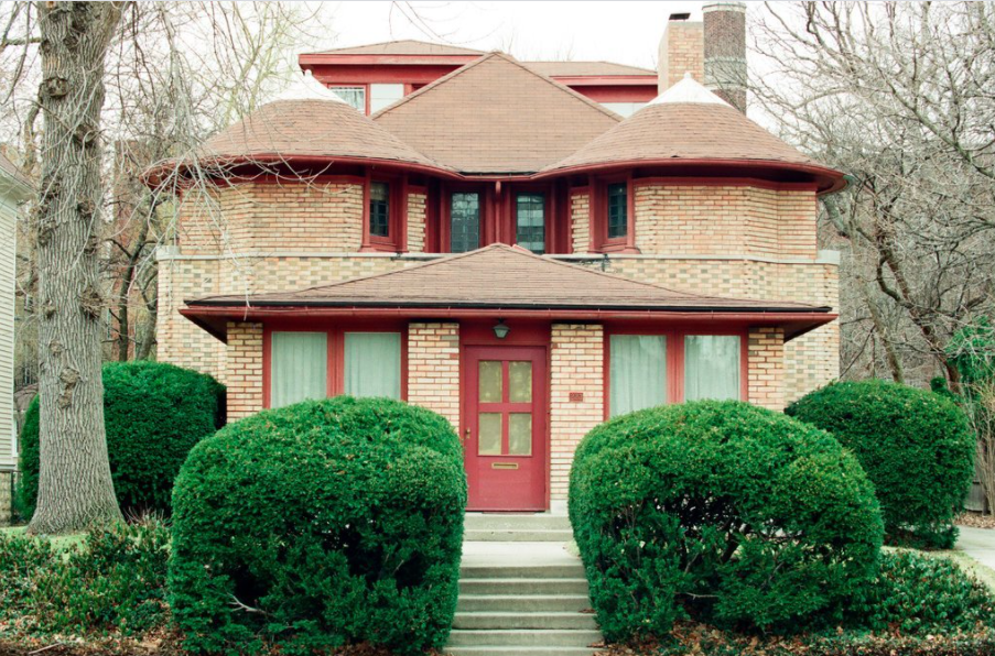 George Furbeck House in Chicago designed by Frank Lloyd Wright