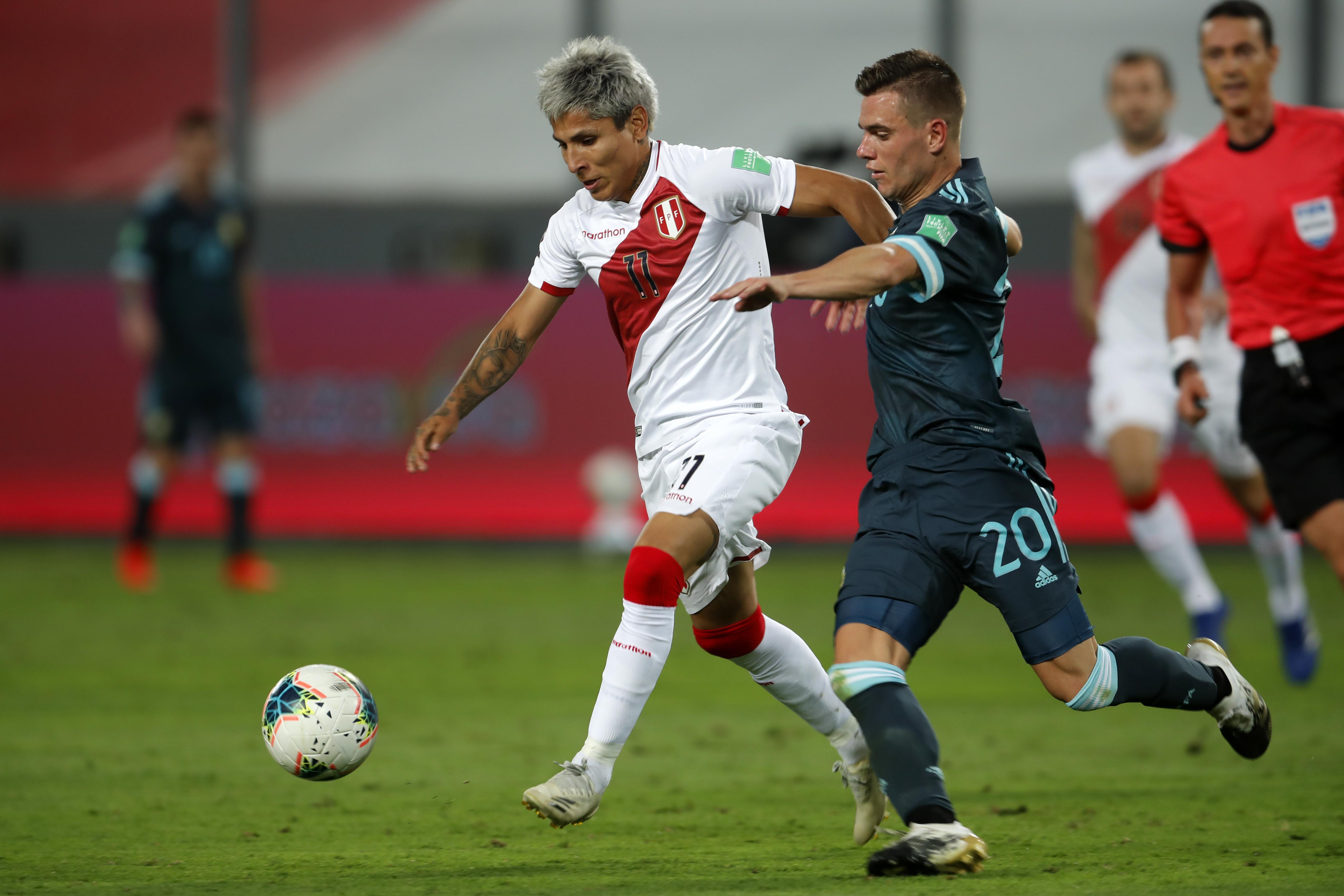 秘鲁vs阿根廷-卡塔尔2022南美预选赛