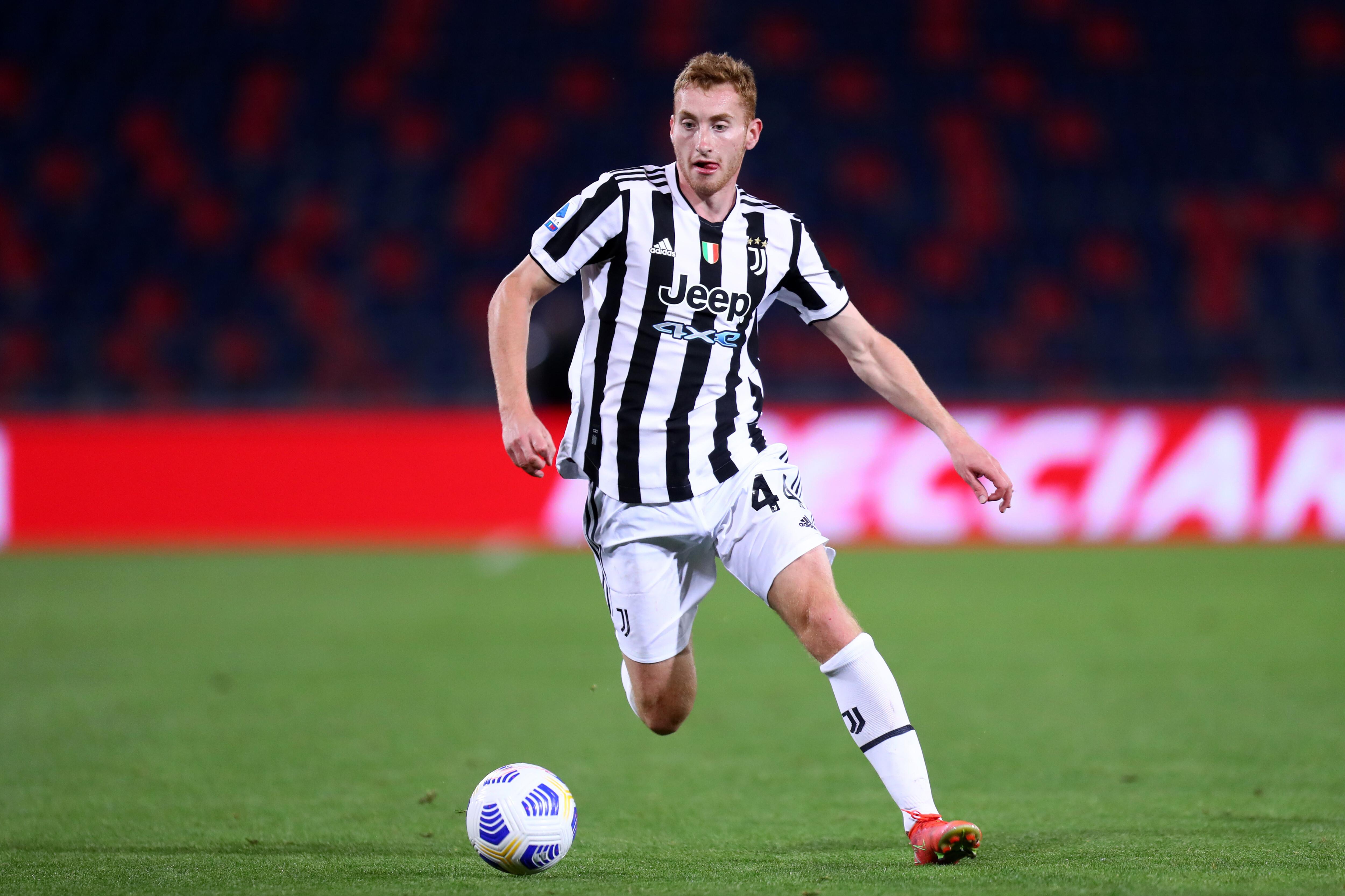 Dejan Kulusevski of Juventus Fc in action during the Serie...