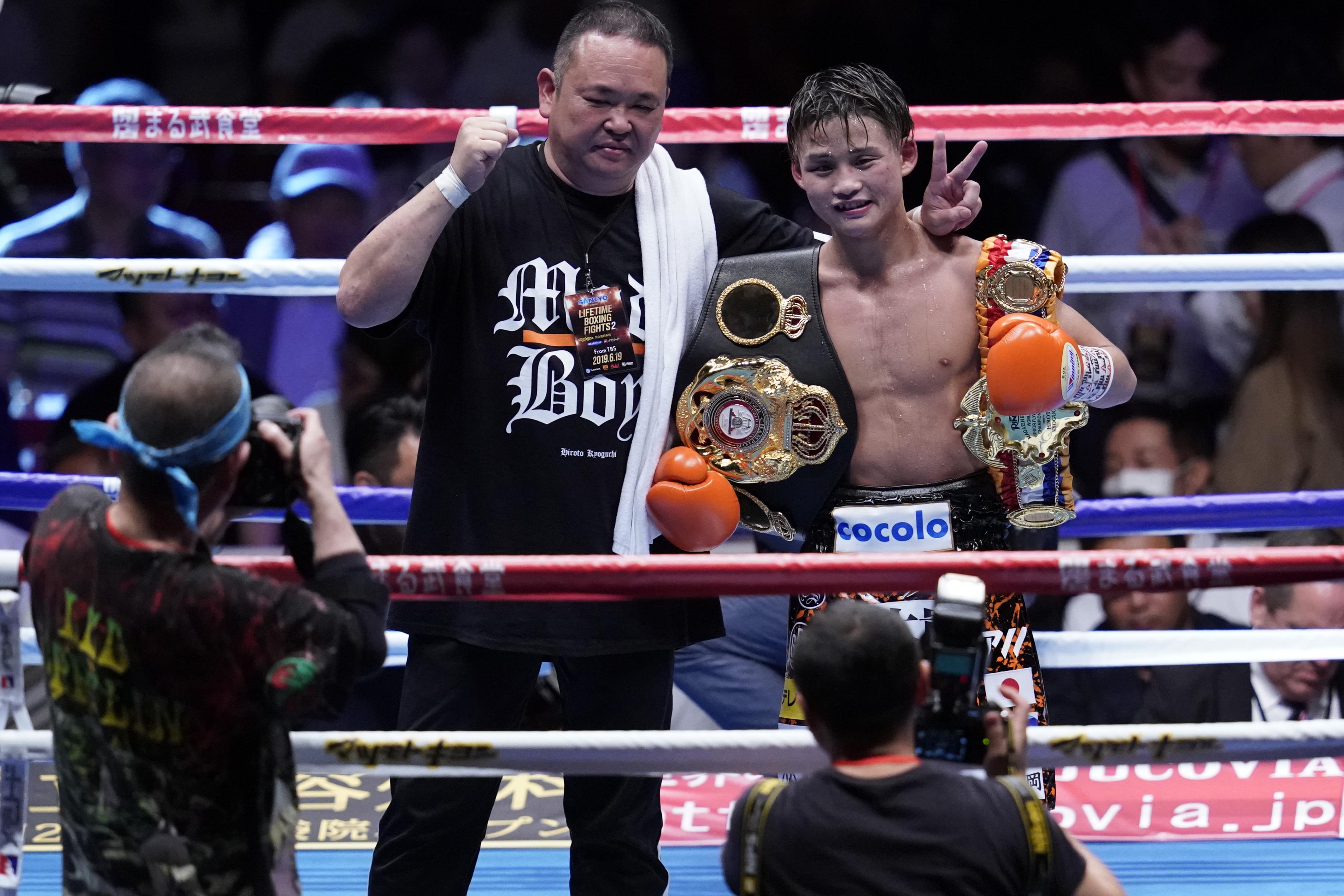 Hiroto Kyoguchi v Tanawat Nakoon - WBA Super Light Flyweight Title Bout
