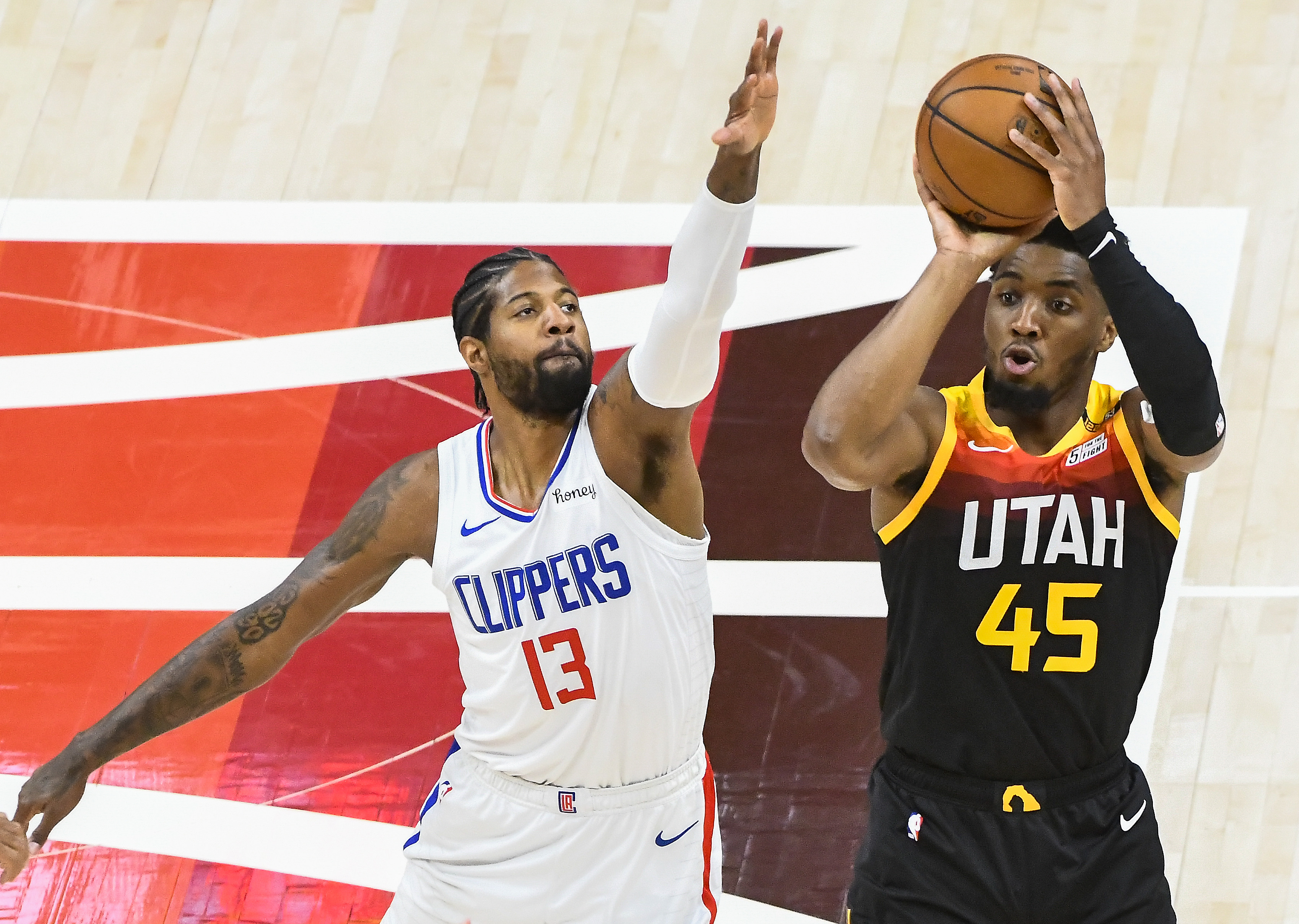 Los Angeles Clippers v Utah Jazz - Game Two