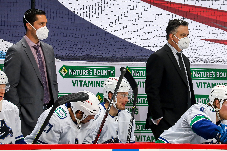 Vancouver Canucks v Winnipeg Jets