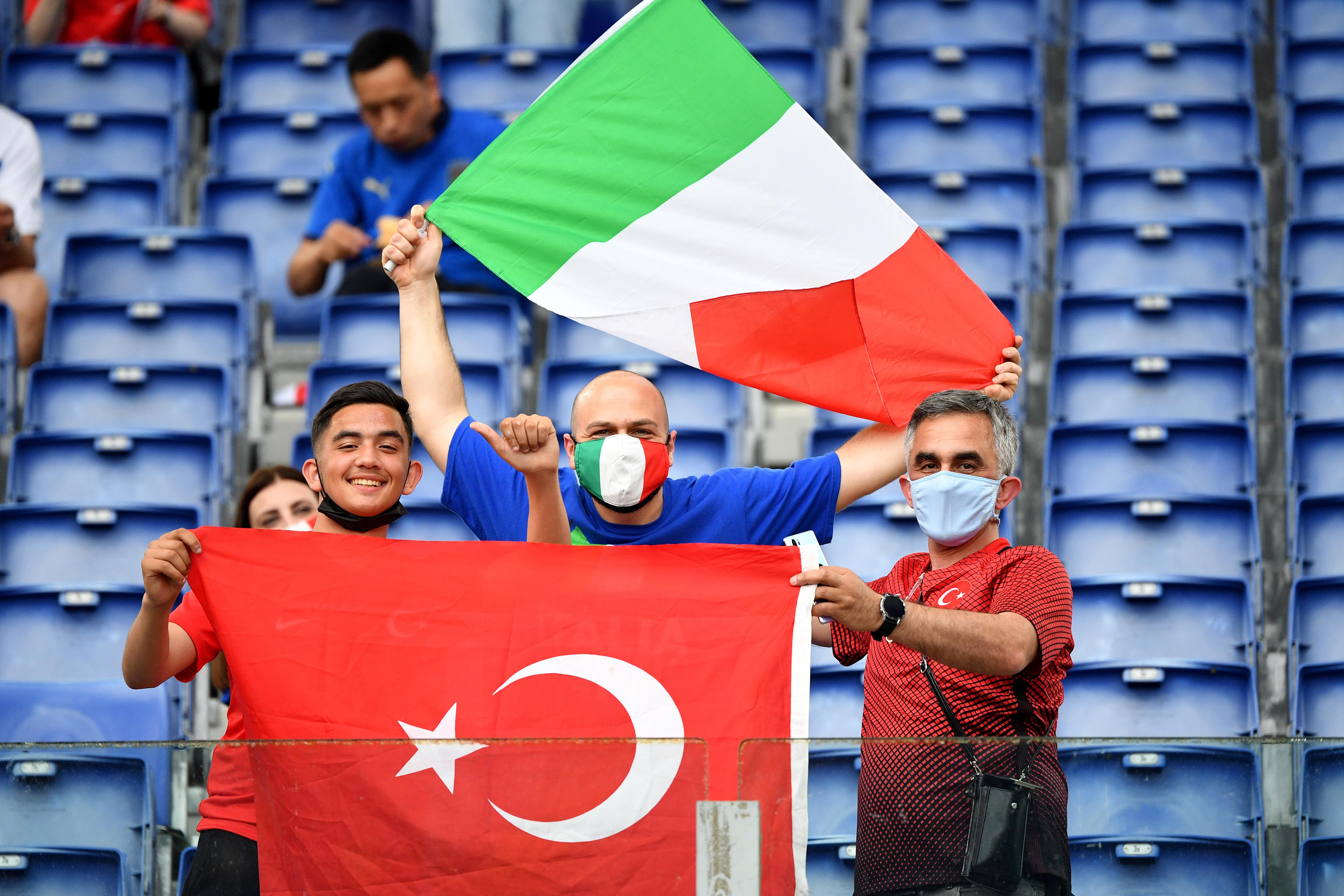 土耳其vs意大利:2020年欧洲杯A组