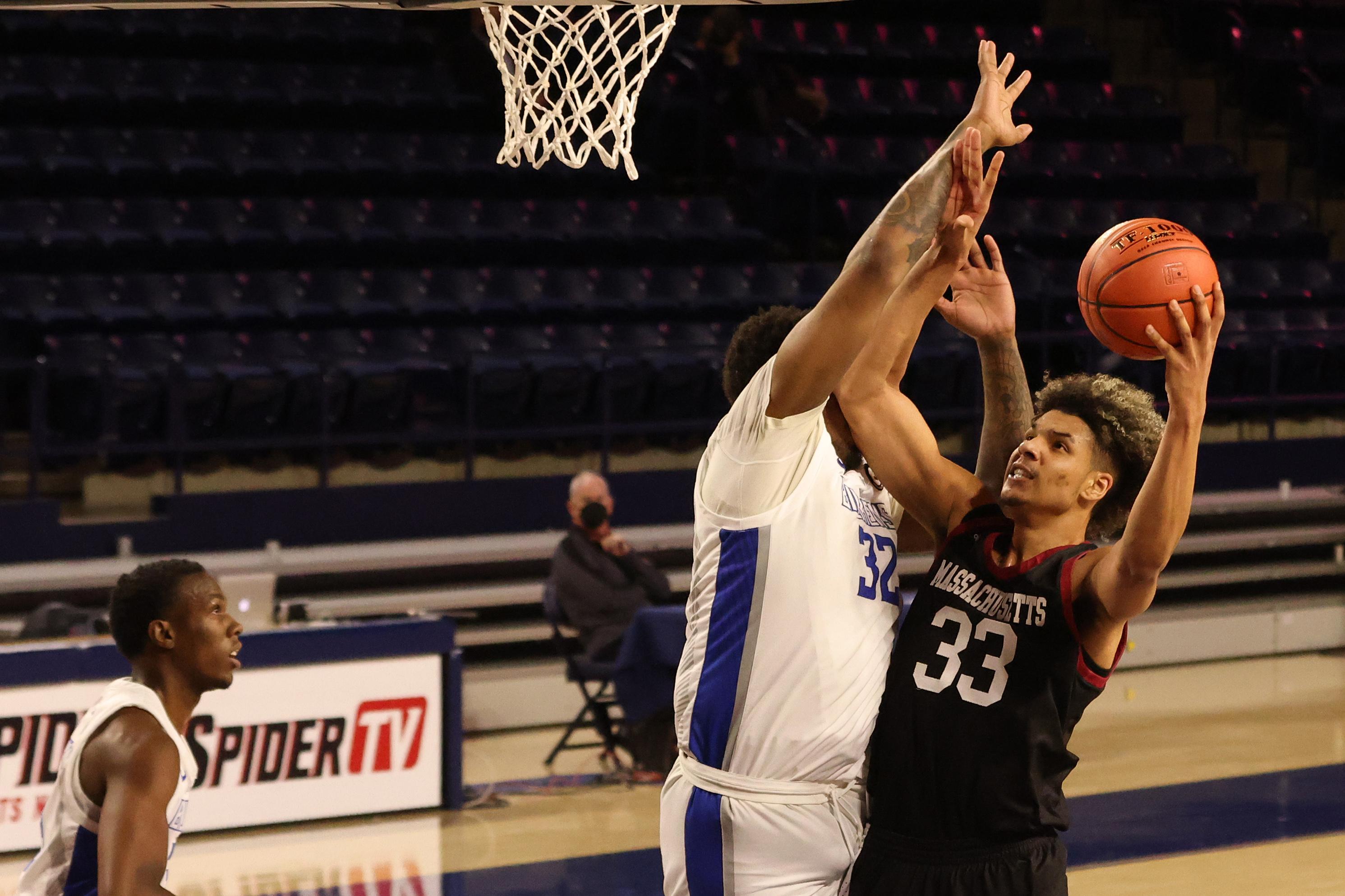 NCAA Basketball: Atlantic 10 Conference Tournament-Massachusetts vs Saint Louis