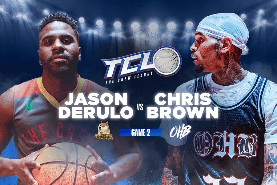Chris Brown vs. Jason Derulo | The Crew League