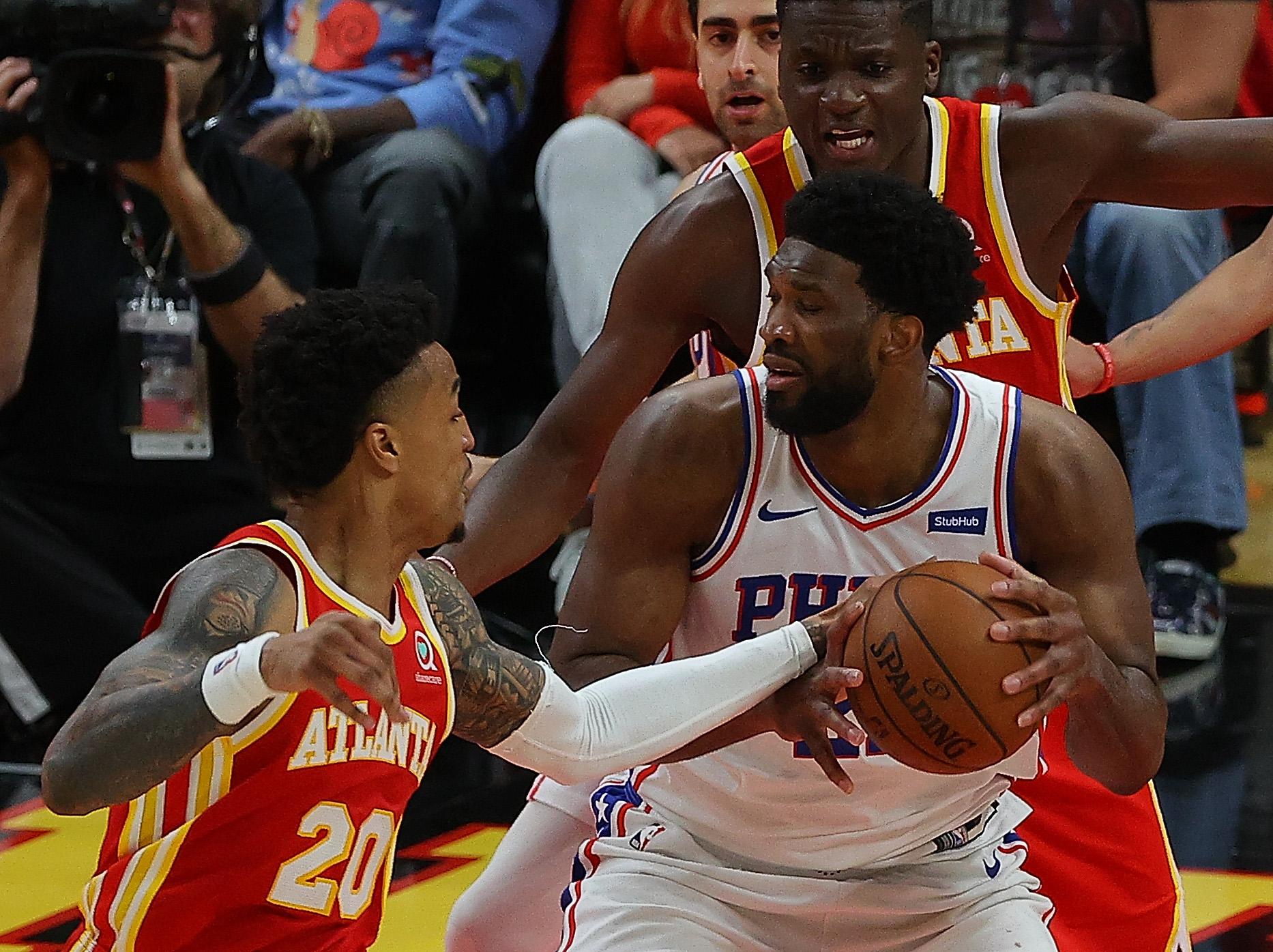 Philadelphia 76ers v Atlanta Hawks - Game Three