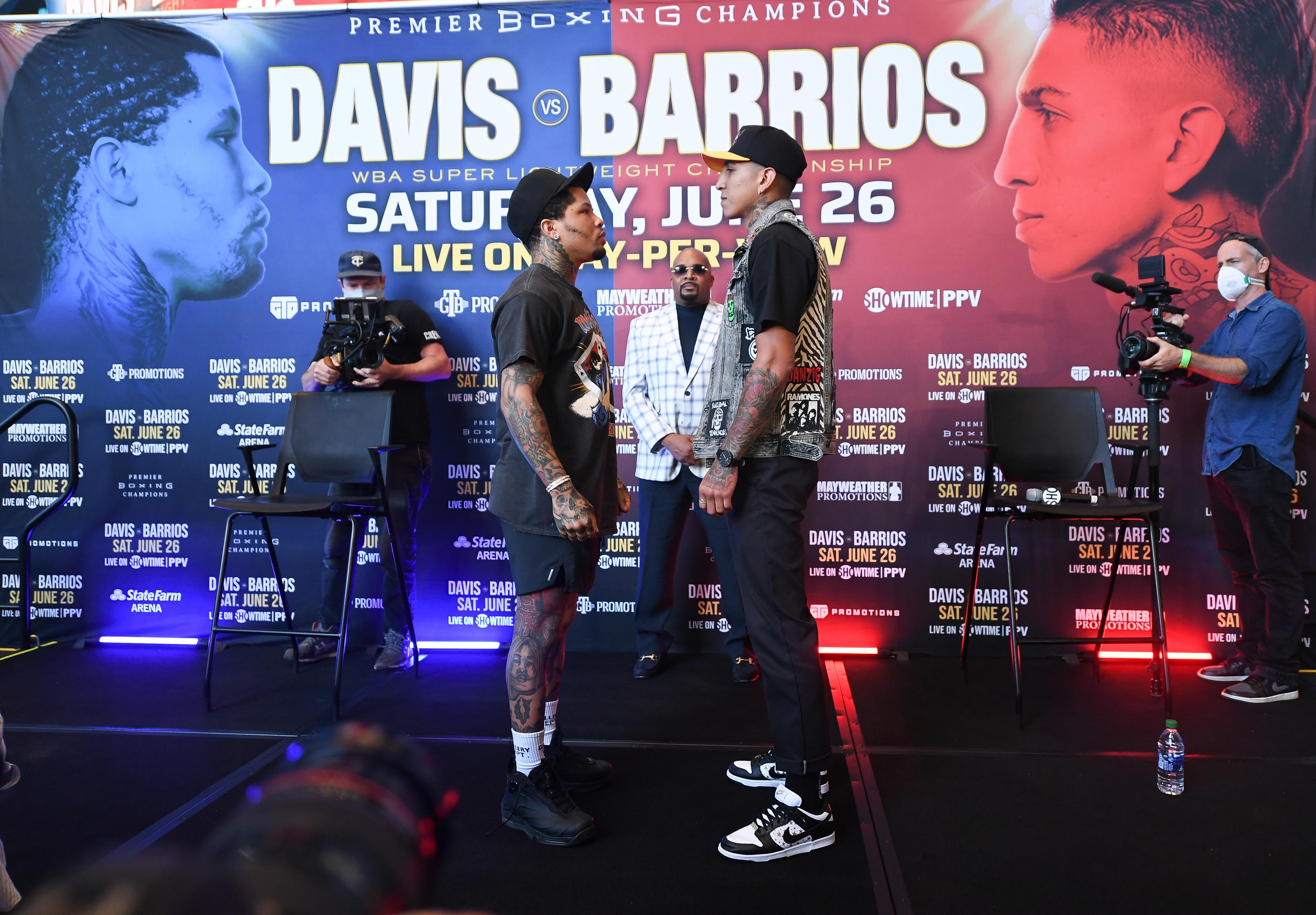 Gervonta Davis v Mario Barrios - Press Conference