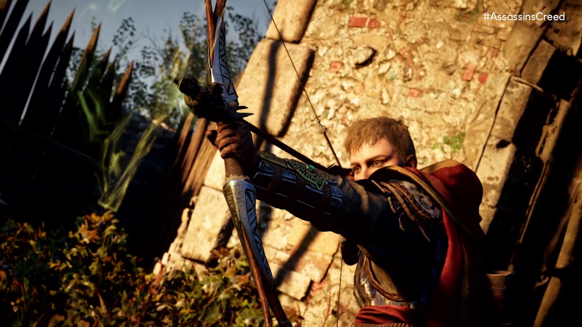 an archer aiming a bow in Assassin's Creed Valhalla: Siege of Paris