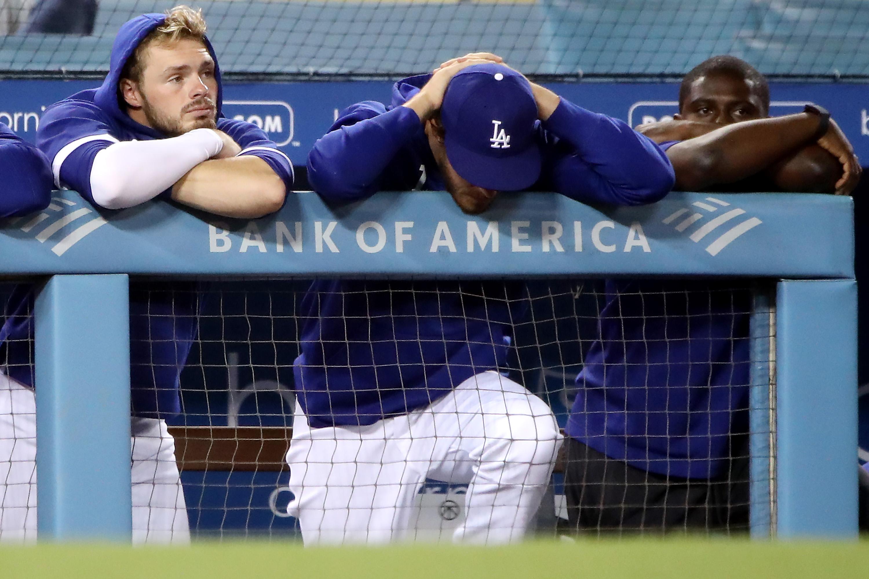 Texas Rangers v Los Angeles Dodgers
