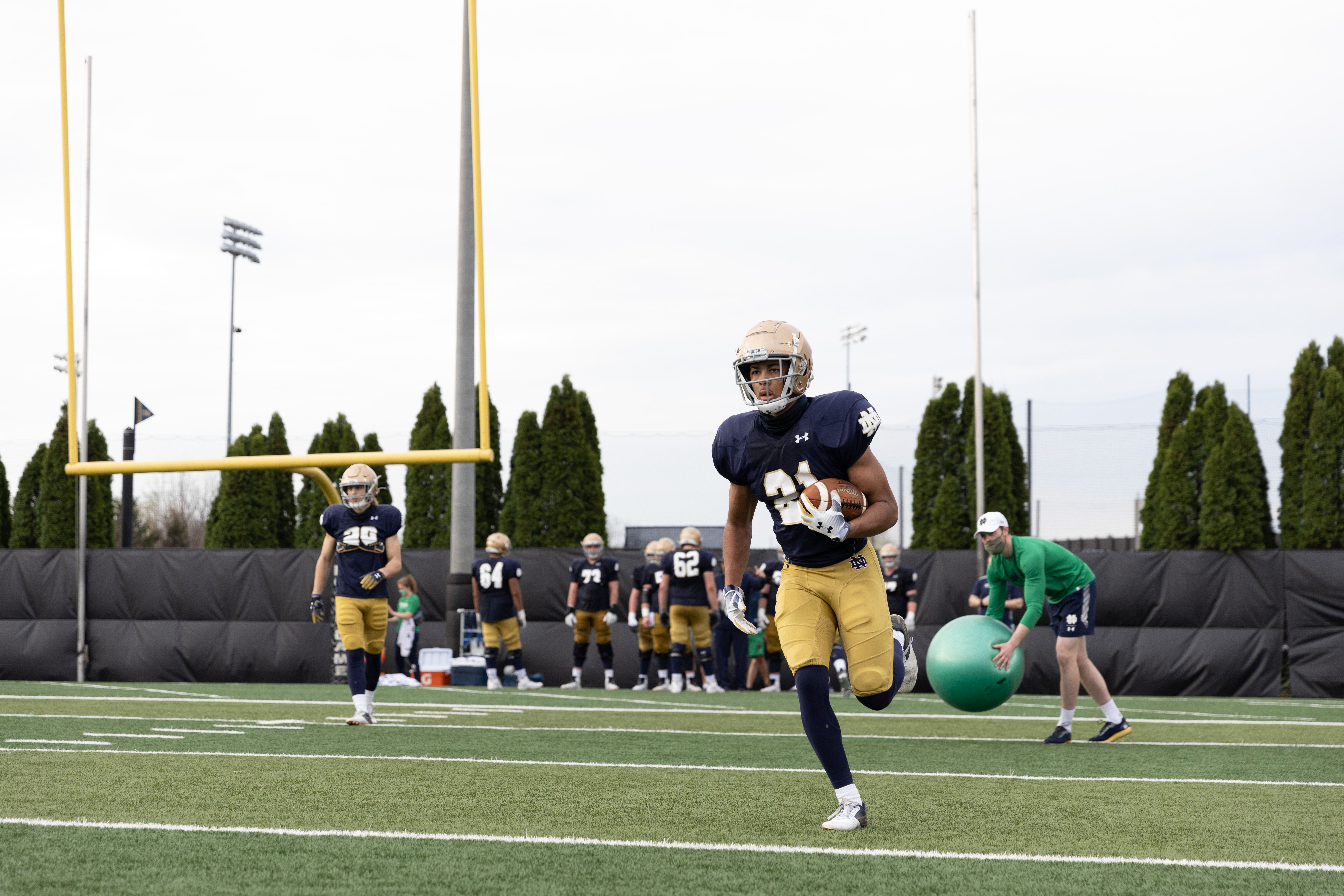 lorenzo styles Notre Dame Athletics