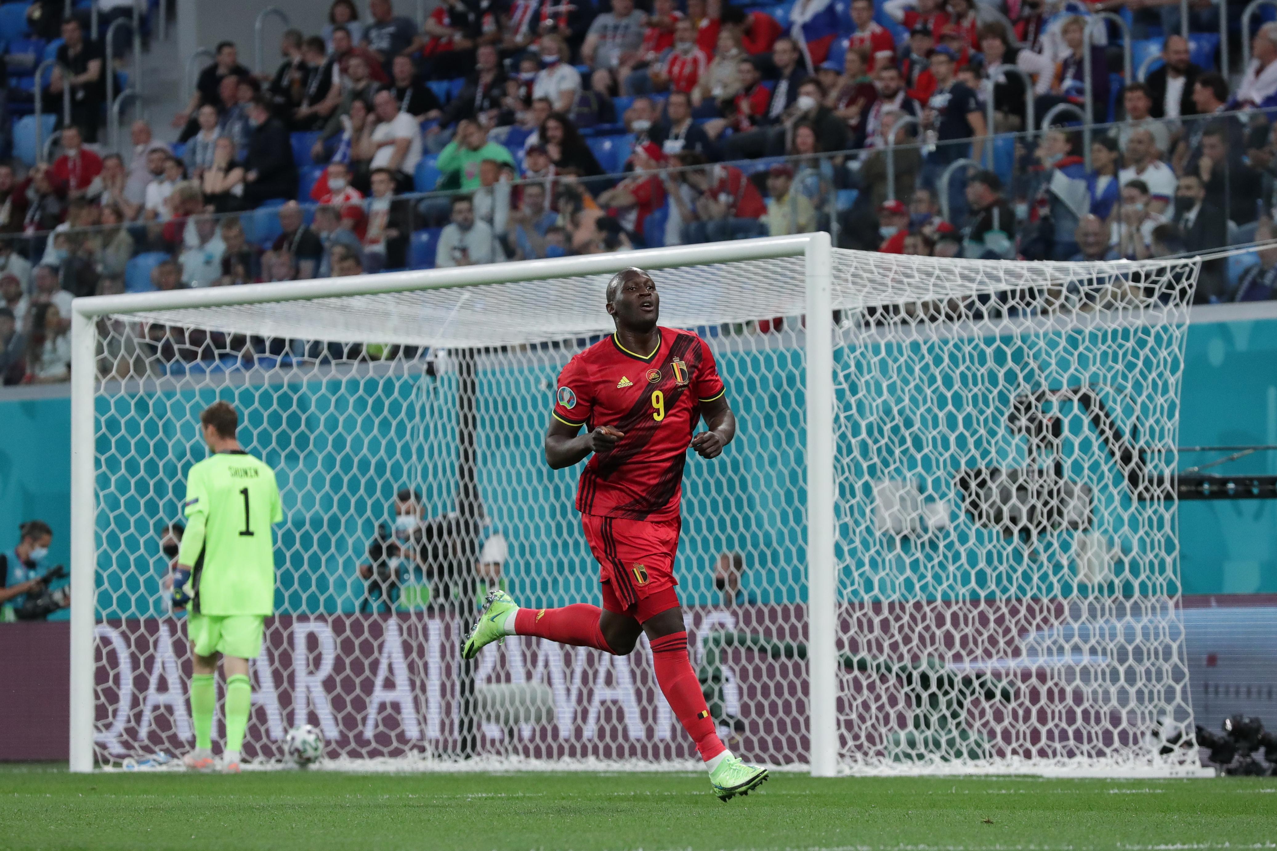 Romelu Lukaku - Belgium - UEFA Euro 2020
