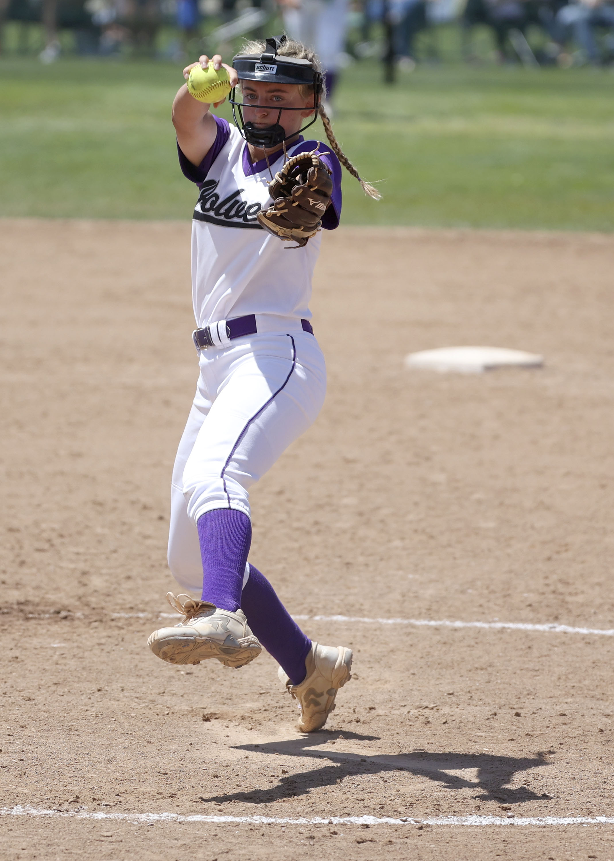 Riverton High School pitcher Kaysen Korth is the Deseret News 6A Softball Player of the Year.