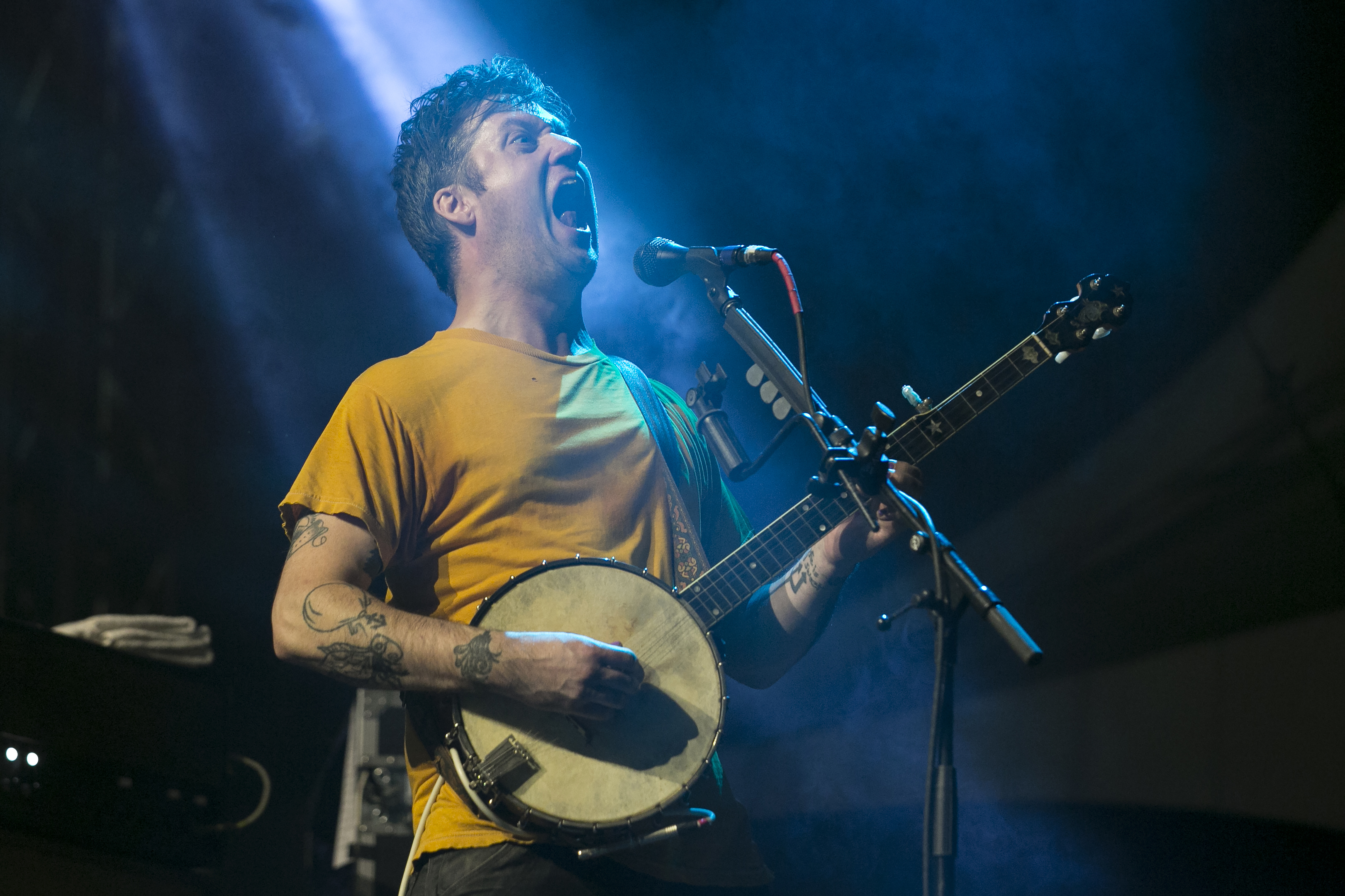 Modest Mouse (shown on day three of Riot Fest in Douglas Park in 2015) will play a Lollapalooza after show July 31 at The Vic.