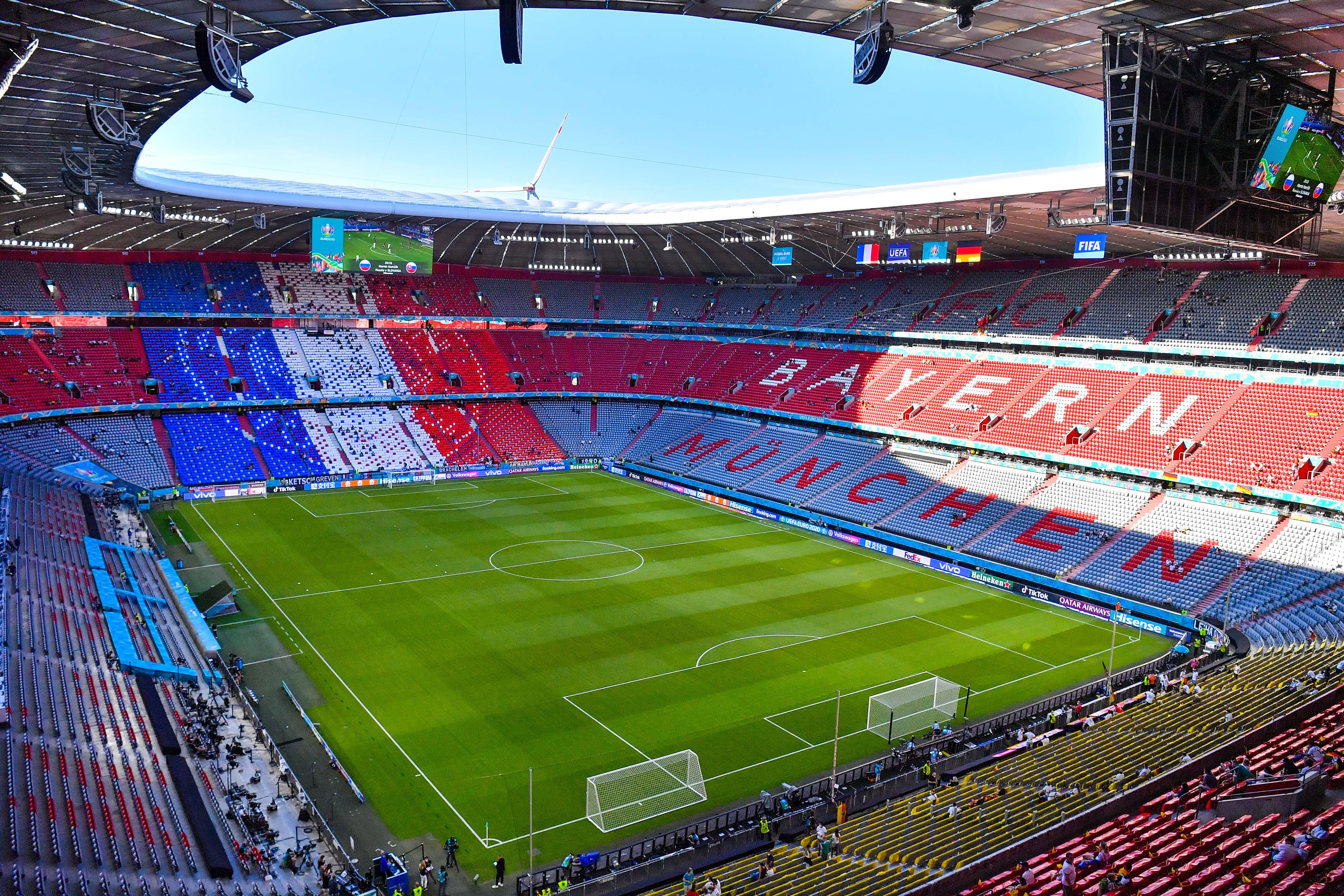 France v Allemagne - UEFA European Championship - Group F