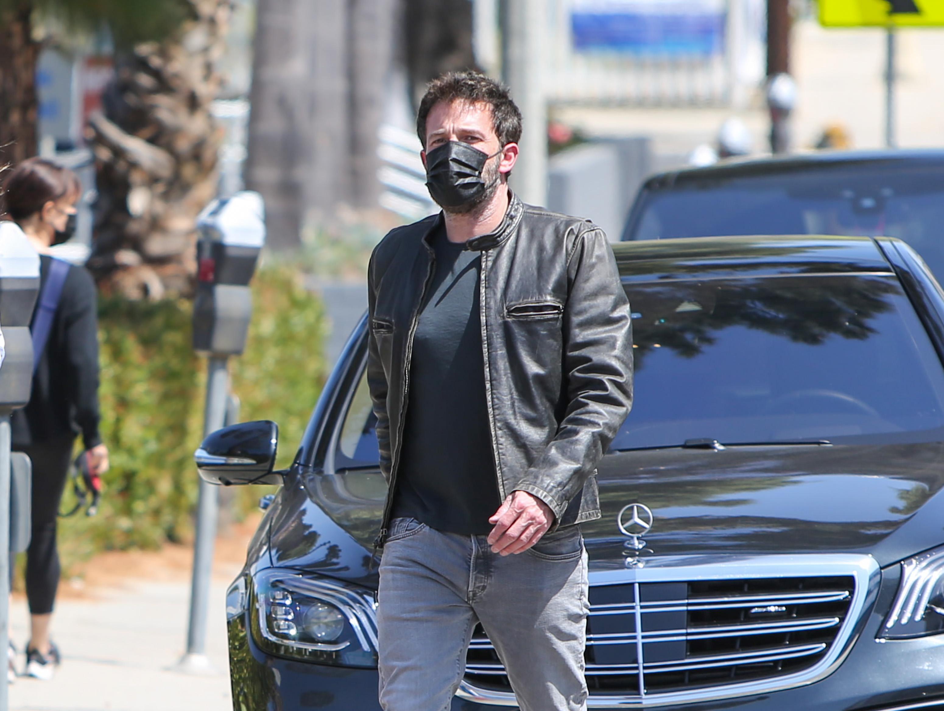 Celebrity Sightings In Los Angeles - May 22, 2021