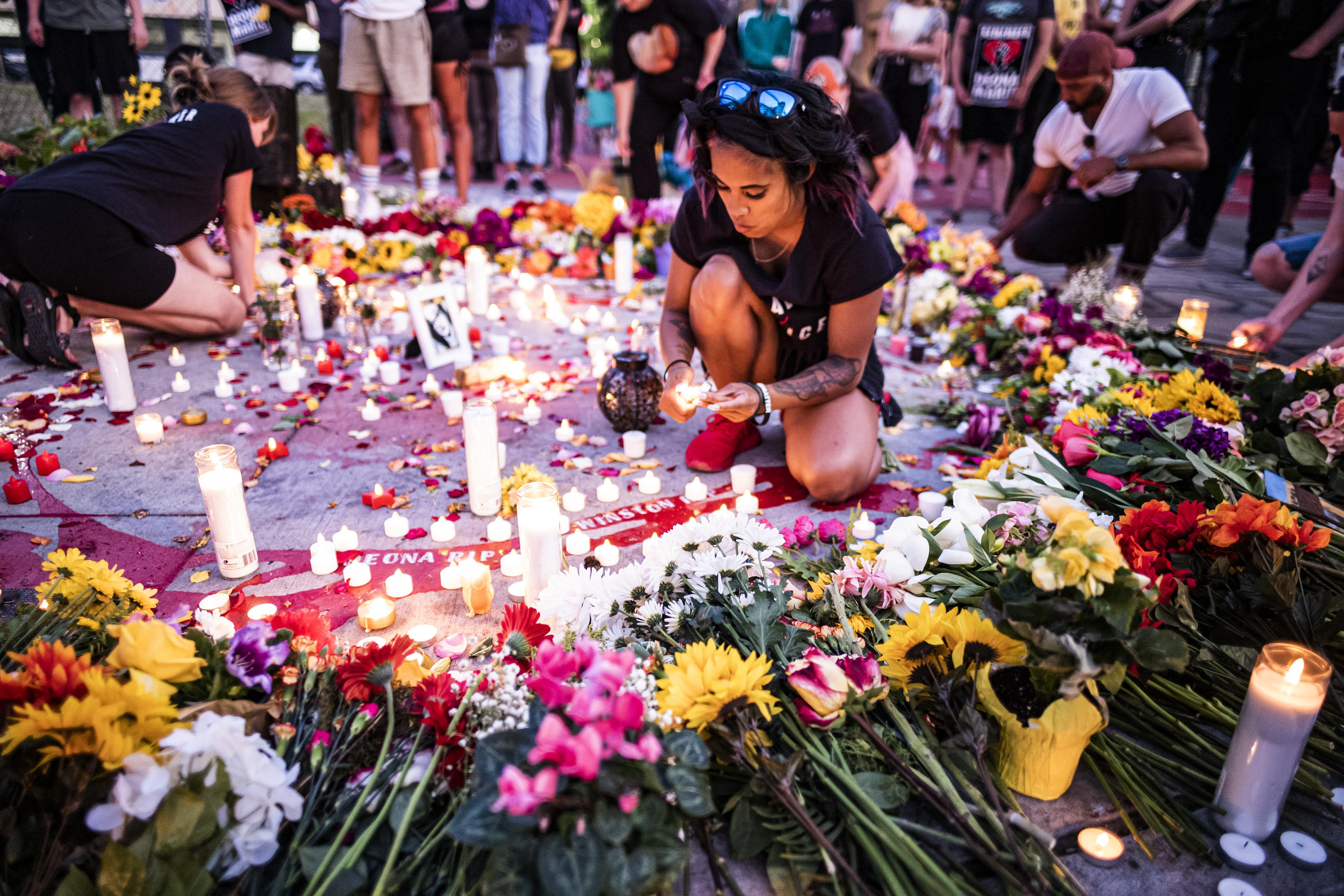 Vigil for Deona M. Knajdek