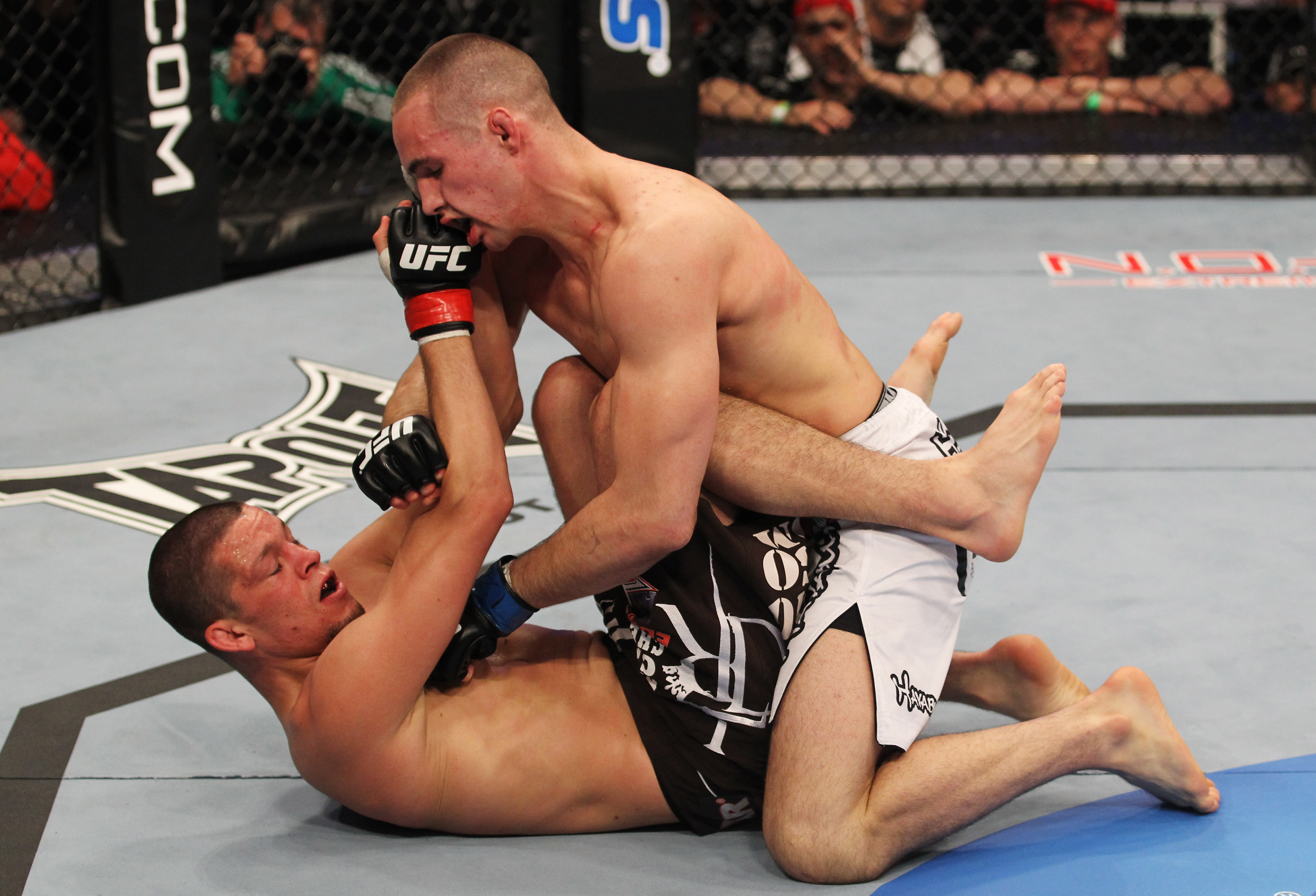 Nate Diaz vs. Rory MacDonald at UFC 129 at the Rogers Centre in Toronto, Ontario