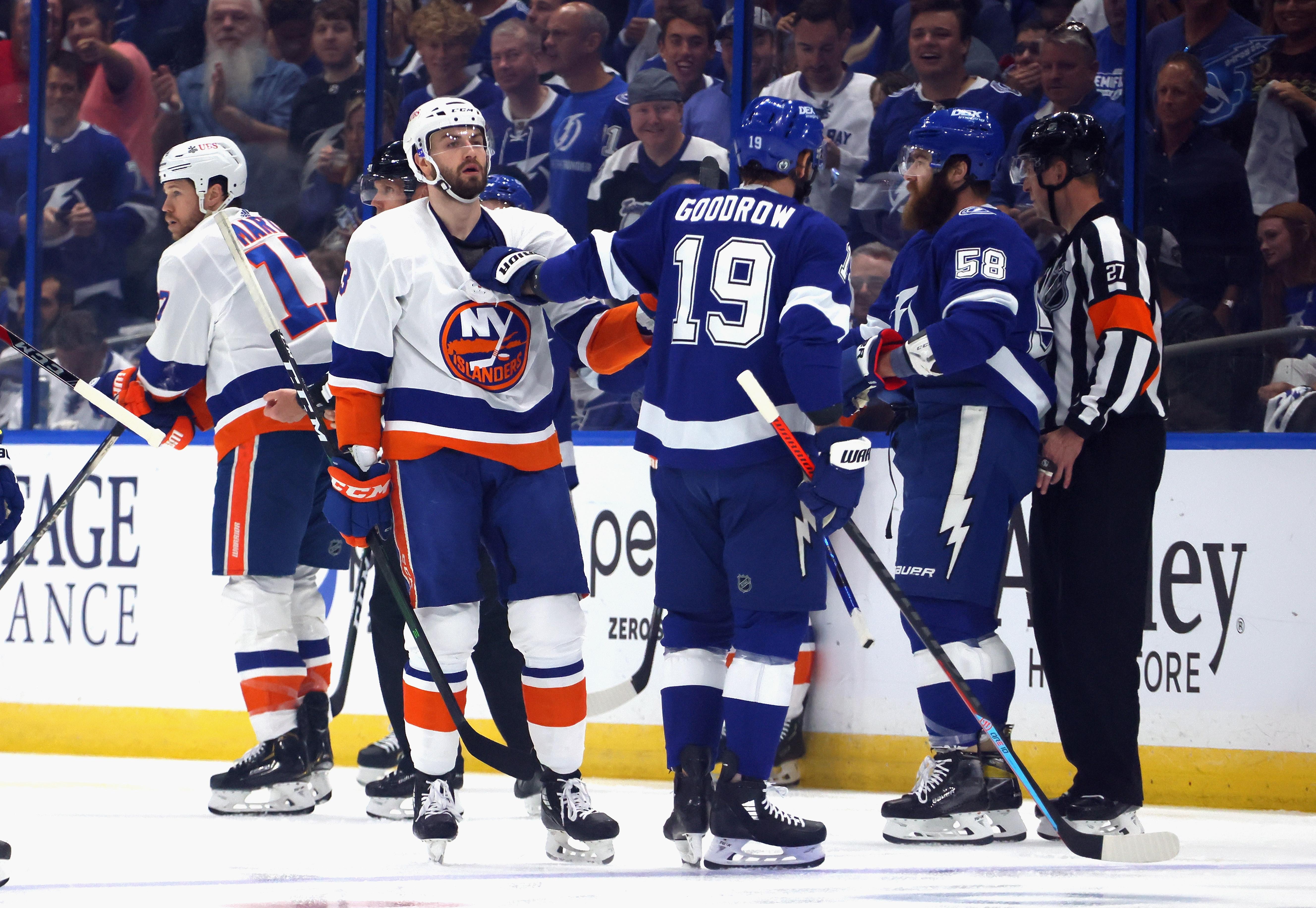 New York Islanders v Tampa Bay Lightning - Game One