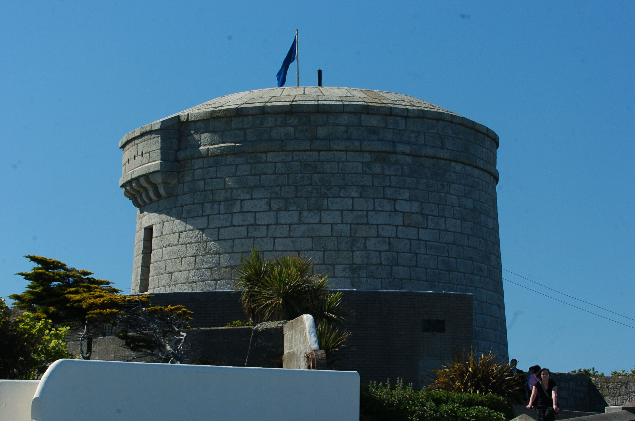 The Martello tower in Sandycove, Dublin, in which William Bulfin and James Joyce met one Sunday morning
