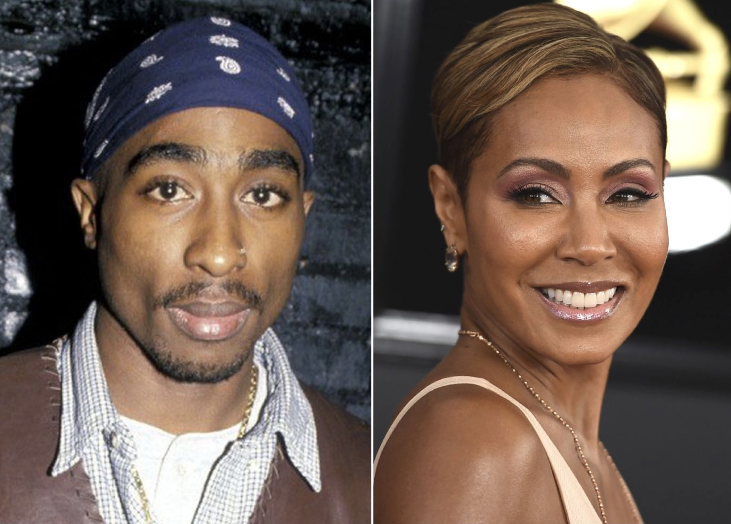 Tupac / Jada Pinkett Smith