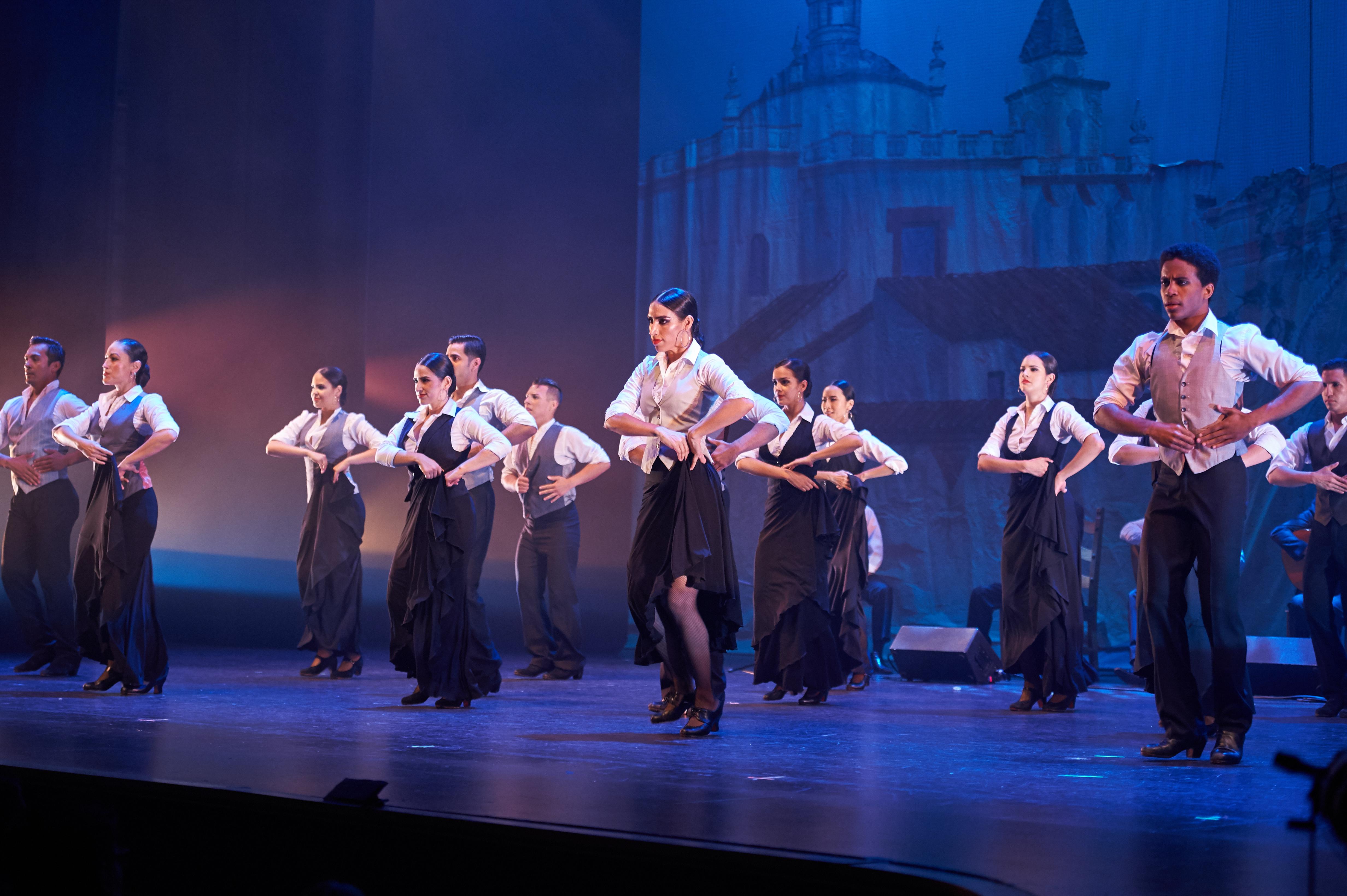 "Ensemble Espanol Company Dancers perform ""Algazara,"" choreographed by Jose Barrios."