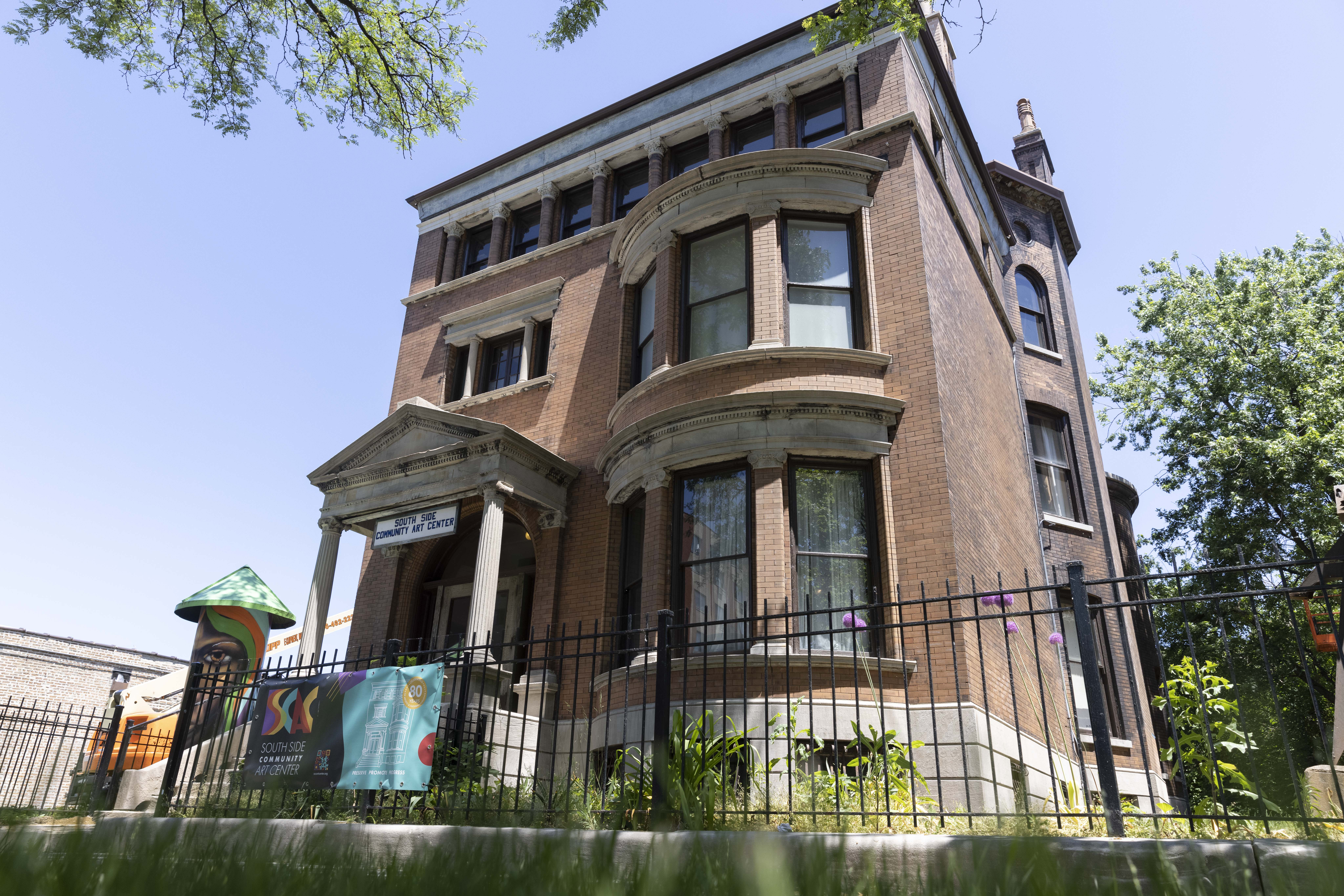 Bronzeville's South Side Community Art Center is one of Chicago's oldest cultural institutions.