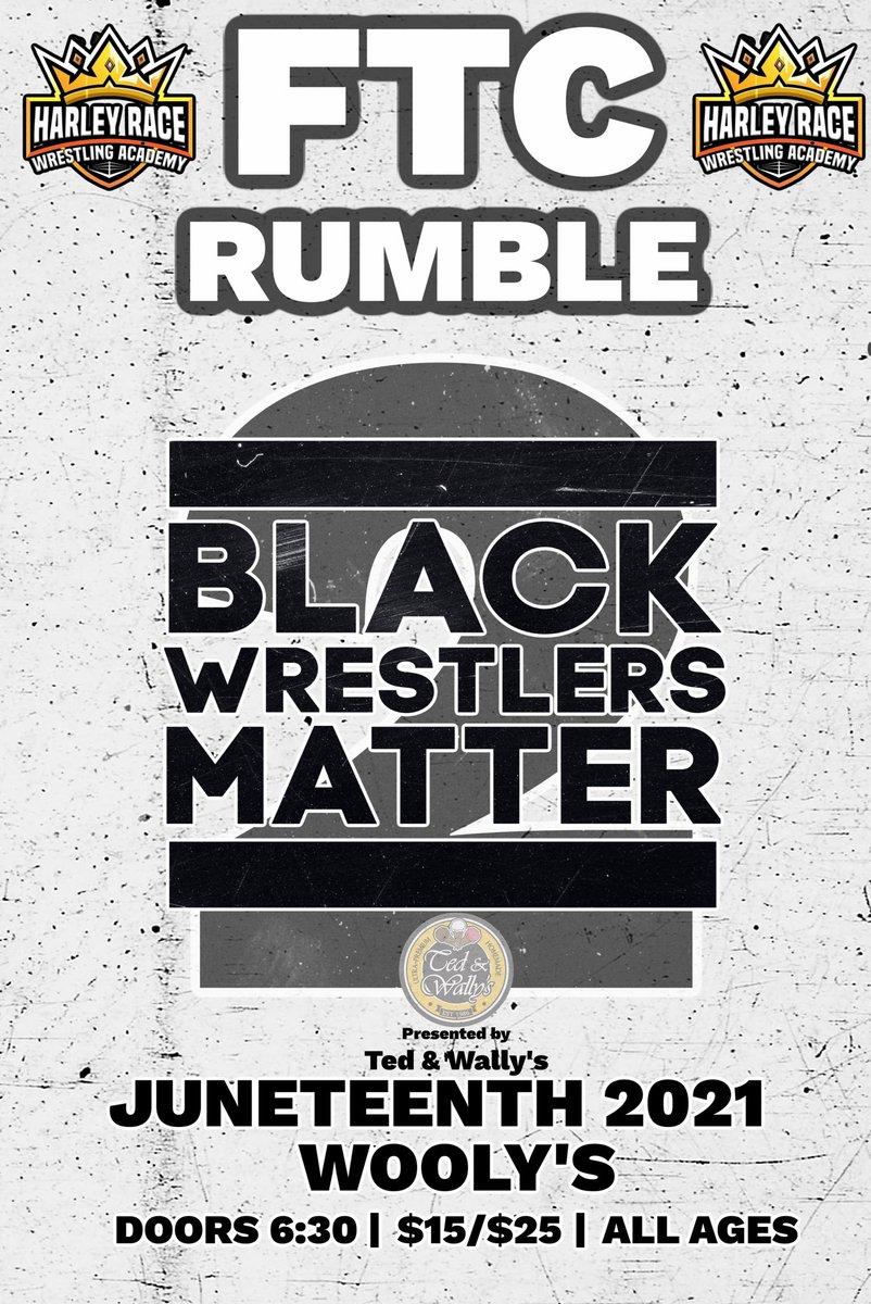 Poster for Black Wrestlers Matter