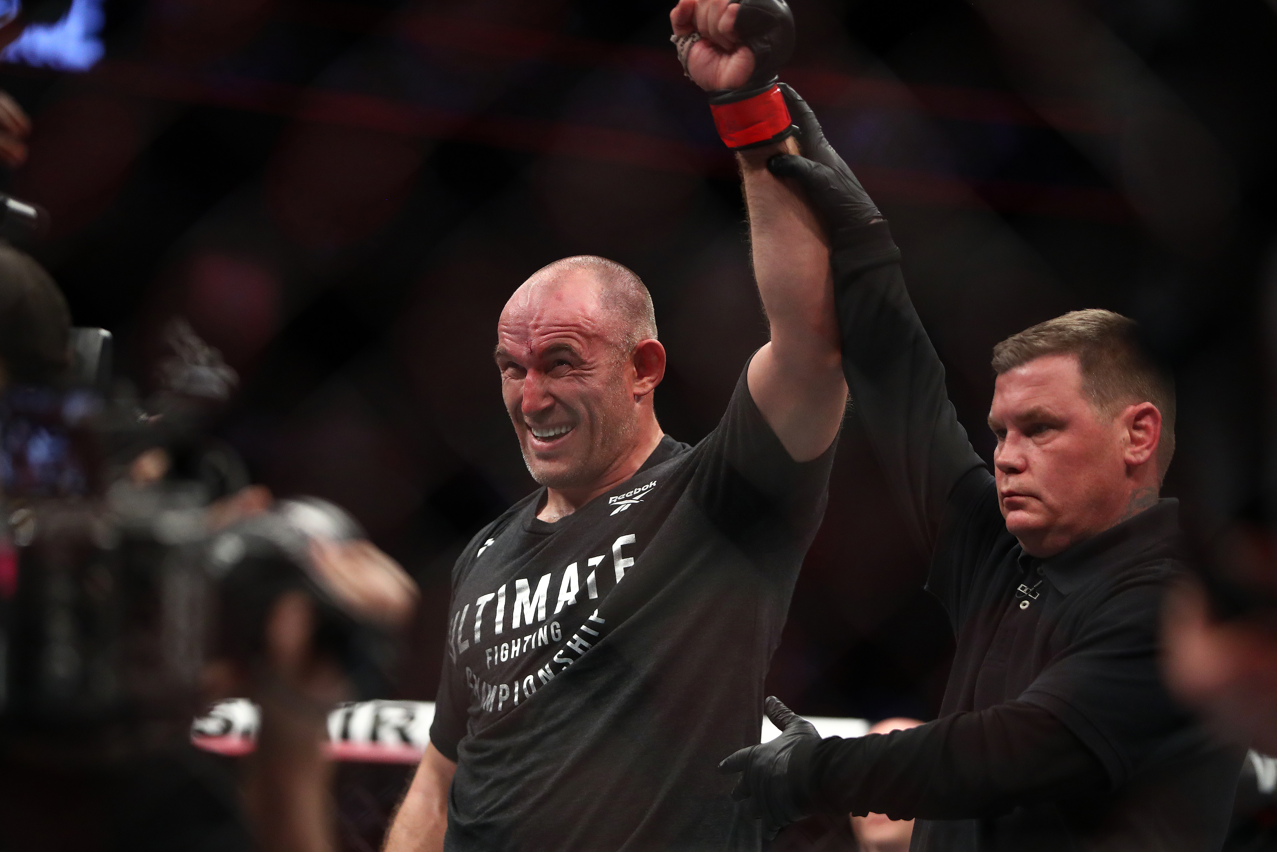 MMA: UFC 246-Oleinik vs Greene