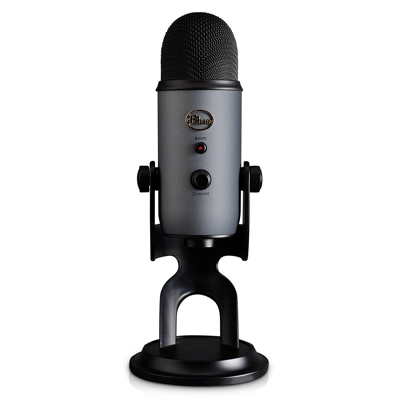 Blue Yeti USB Streaming Microphone in Slate