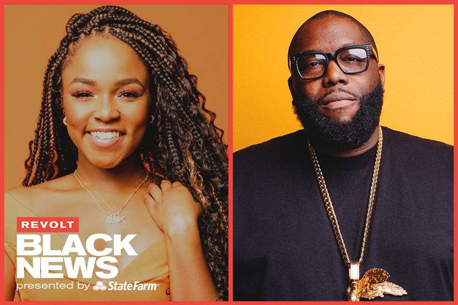 Killer Mike and Gia Peppers