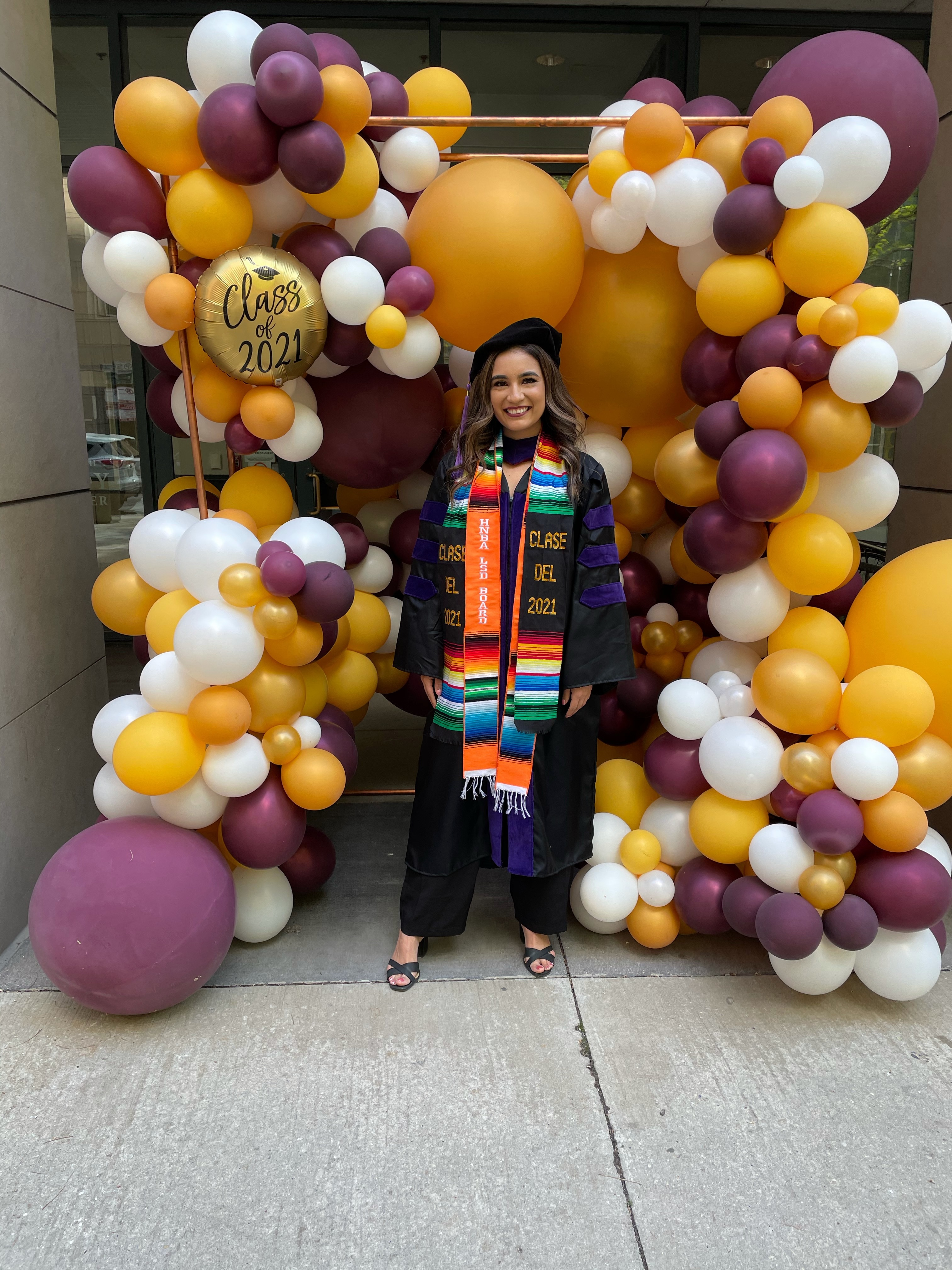 Daihana Estrada graduated in May from Loyola University Chicago School of Law.