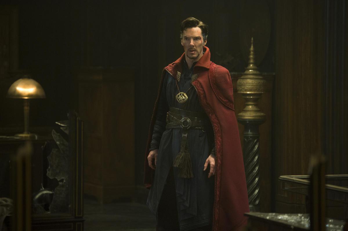 "Doctor Stephen Strange (Benedict Cumberbatch) in ""Doctor Strange."""