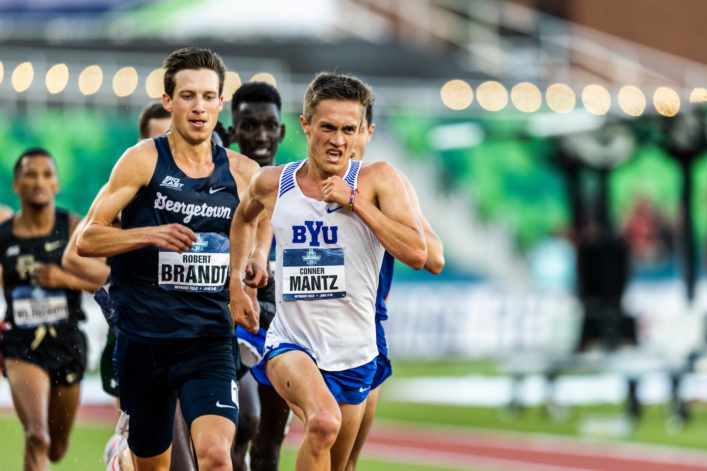 BYU's Conner Mantz took fifth in the U.S. Olympic Track and Field Trials.
