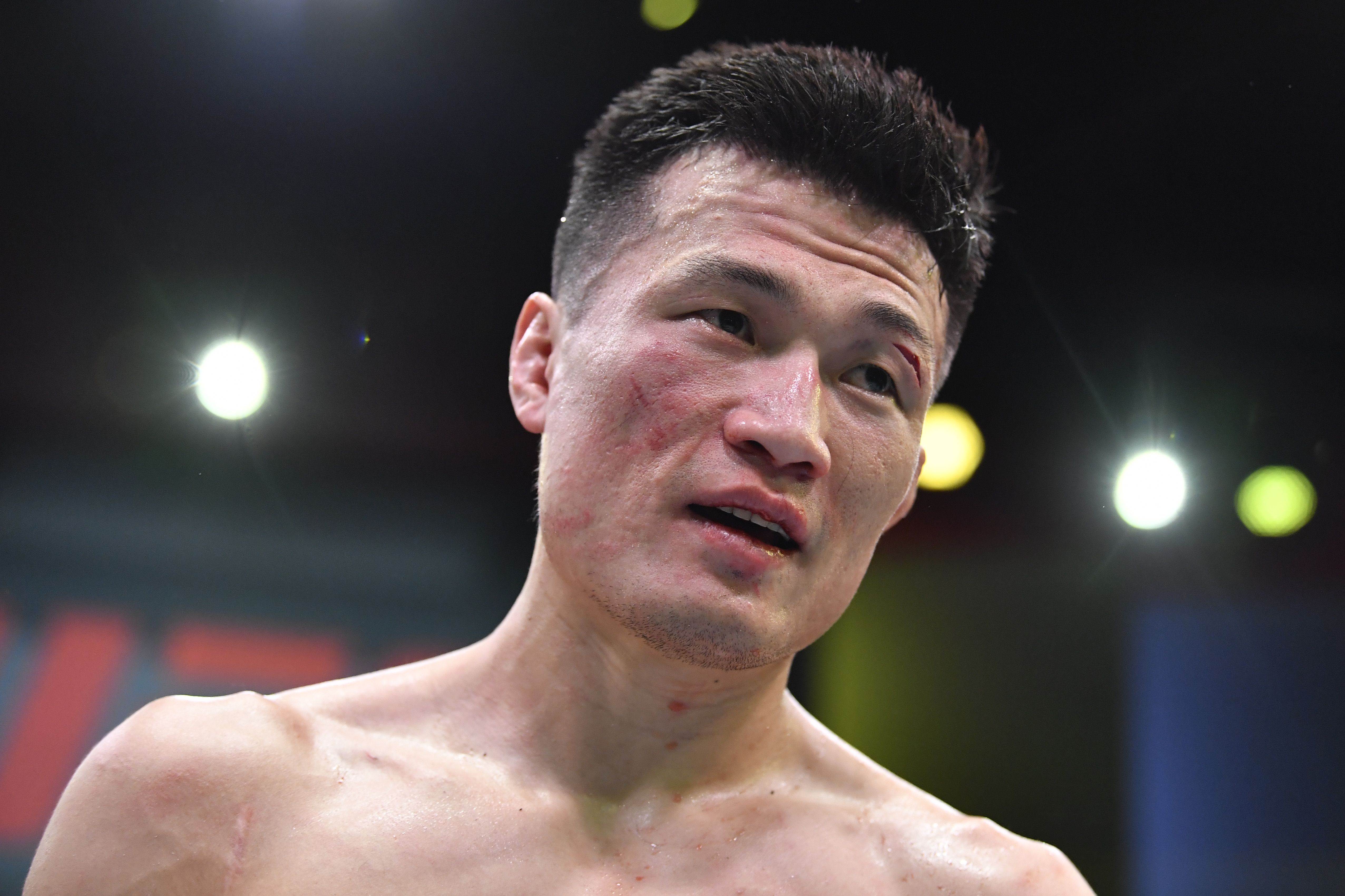Chan Sung Jung had his shoulder pop out and in during his headliner fight against Dan Ige at UFC Vegas 29.