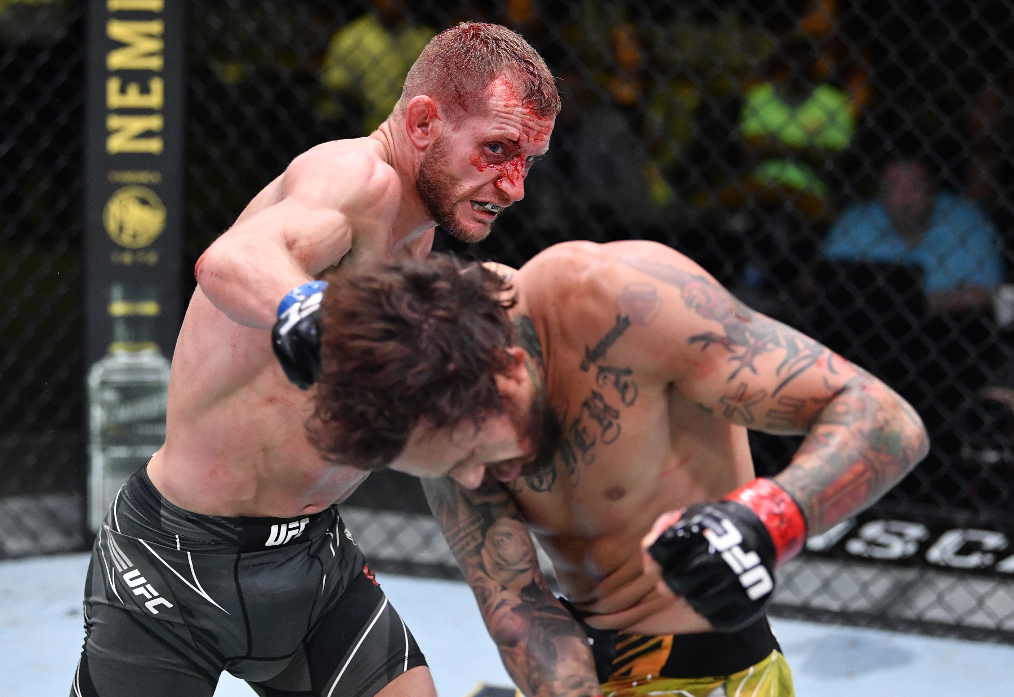 Bantamweights Davey Grant and Marlon Vera won Fight of the Night honors for their three-round war at UFC Vegas 29.