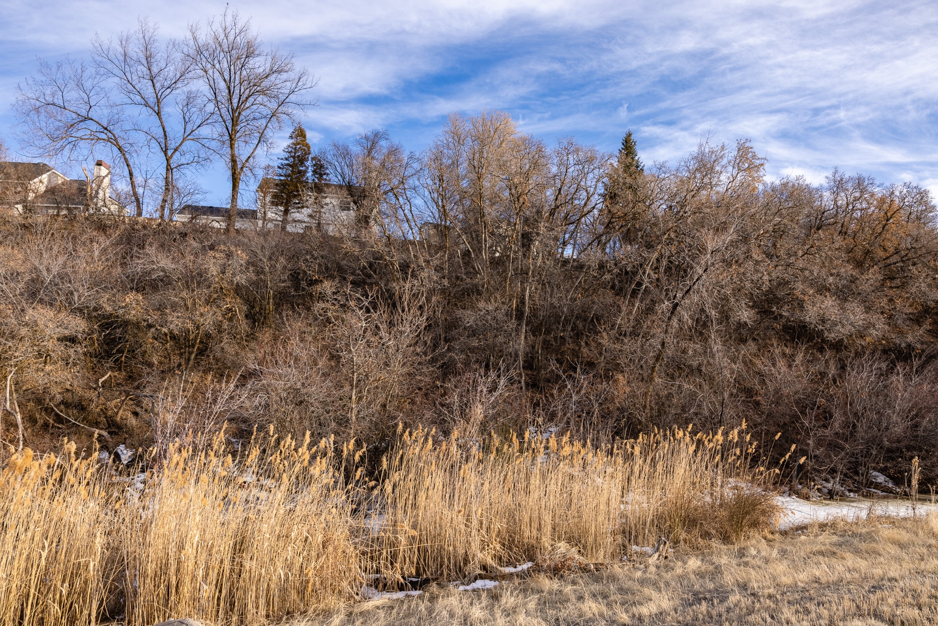 A man spotted a human skull at the bottom of this hillside near the border of Farmington and Fruit Heights in 2015.