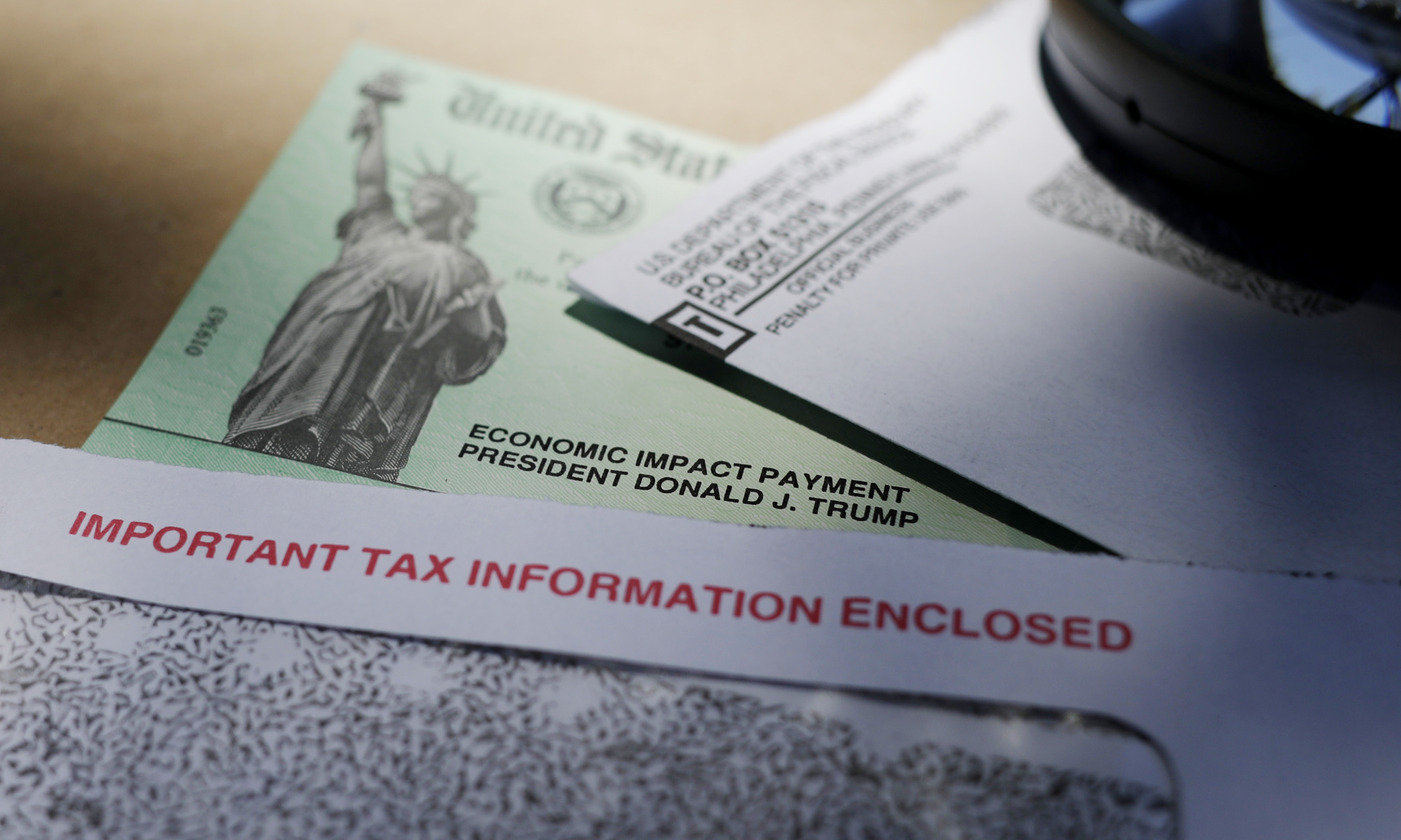 A new report suggests Congress might talk about stimulus checks when they meet again.