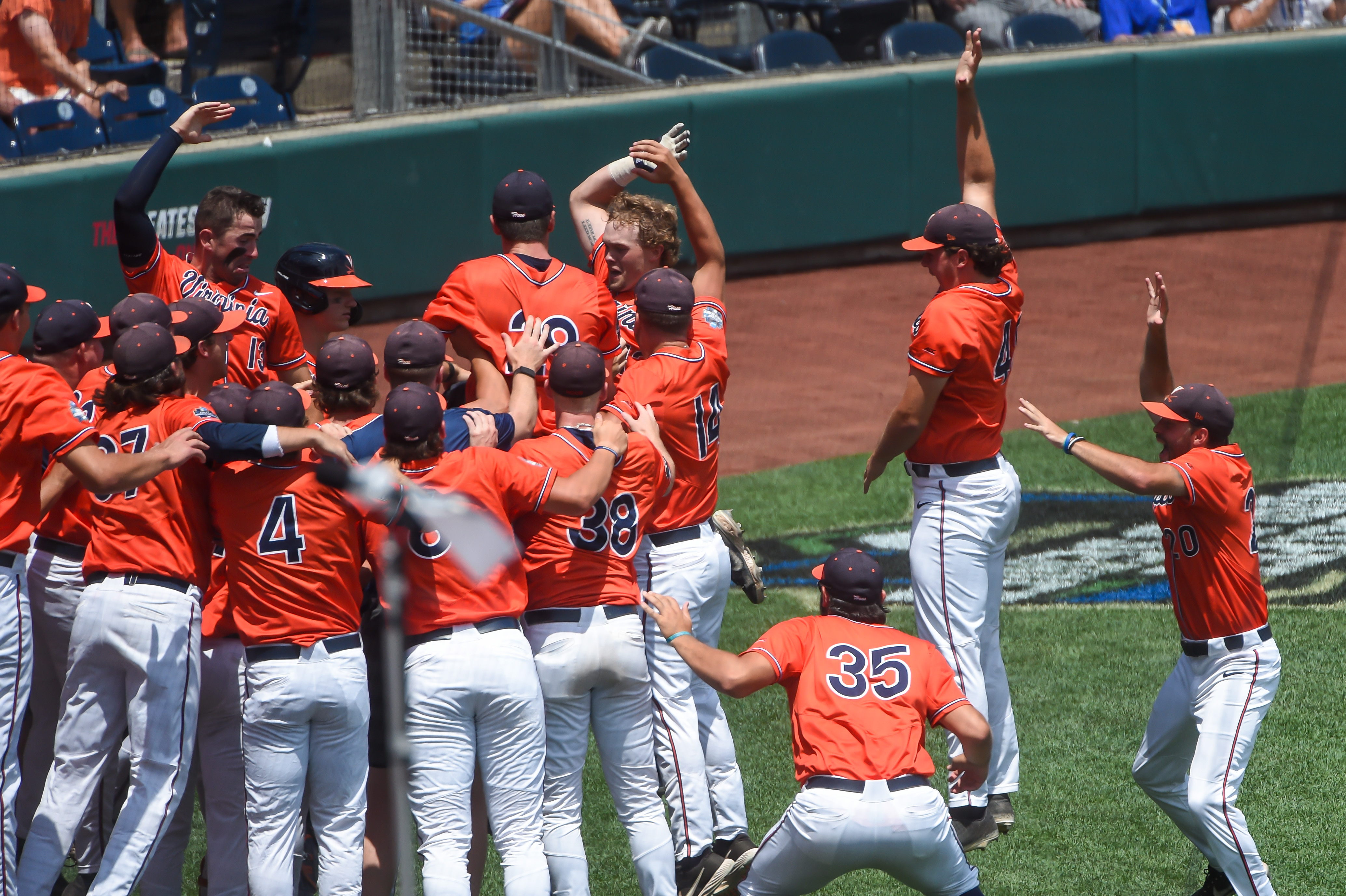 NCAA Baseball: College World Series-Tennessee v Virginia